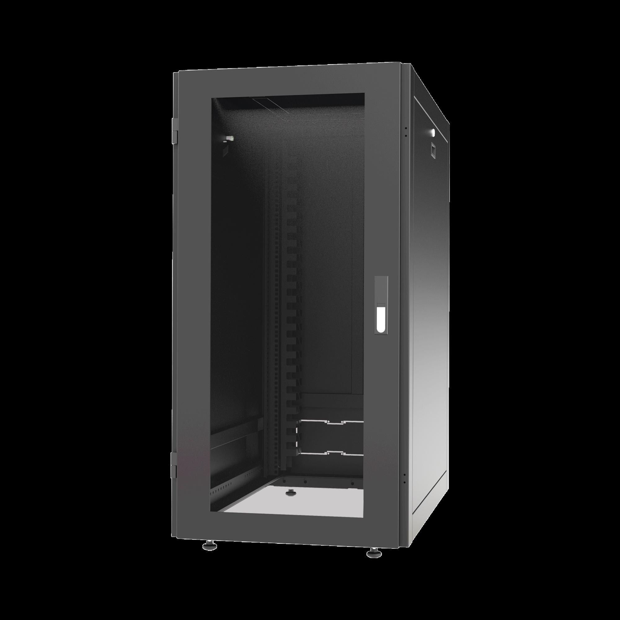 Gabinete Profesional para Telecomunicaciones de 24UR, 600 mm de Ancho x 1000 mm de Profundidad.