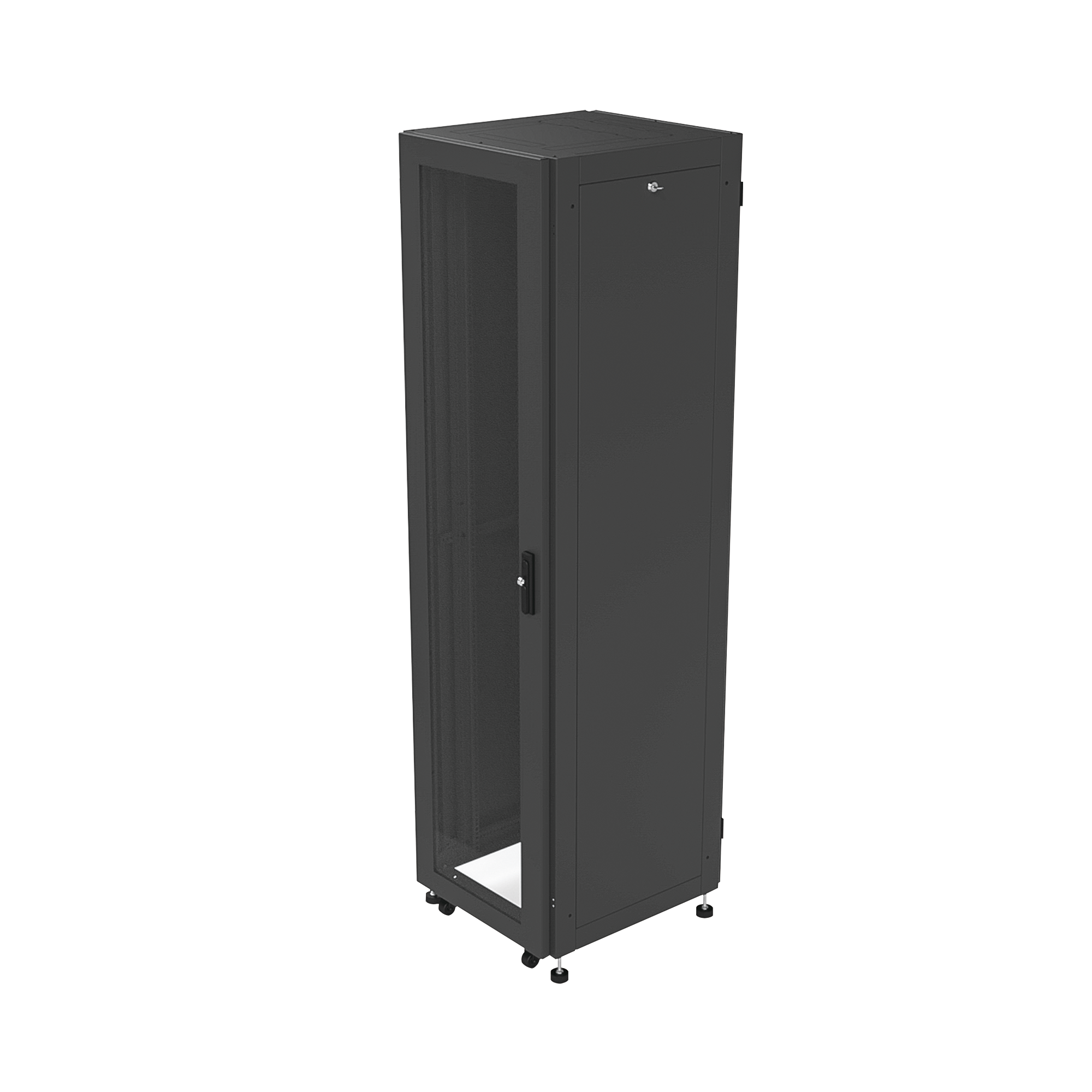 Gabinete Profesional para Telecomunicaciones de 45UR, 600 mm Ancho x 600 mm Profundidad.