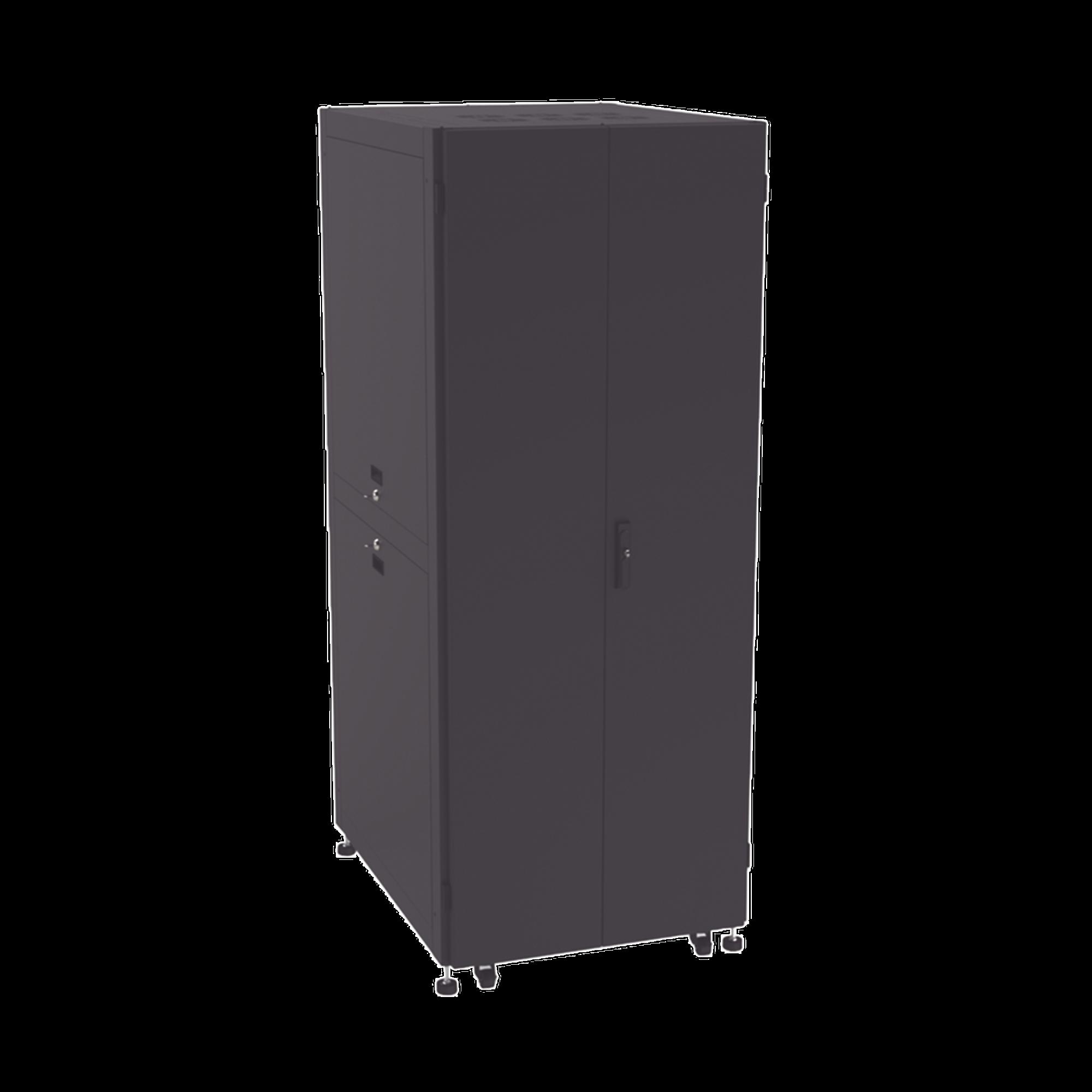 Gabinete Ancho para Telecomunicaciones de 45UR, 800 Ancho, 1000 mm Profundidad. Incluye Iluminación.