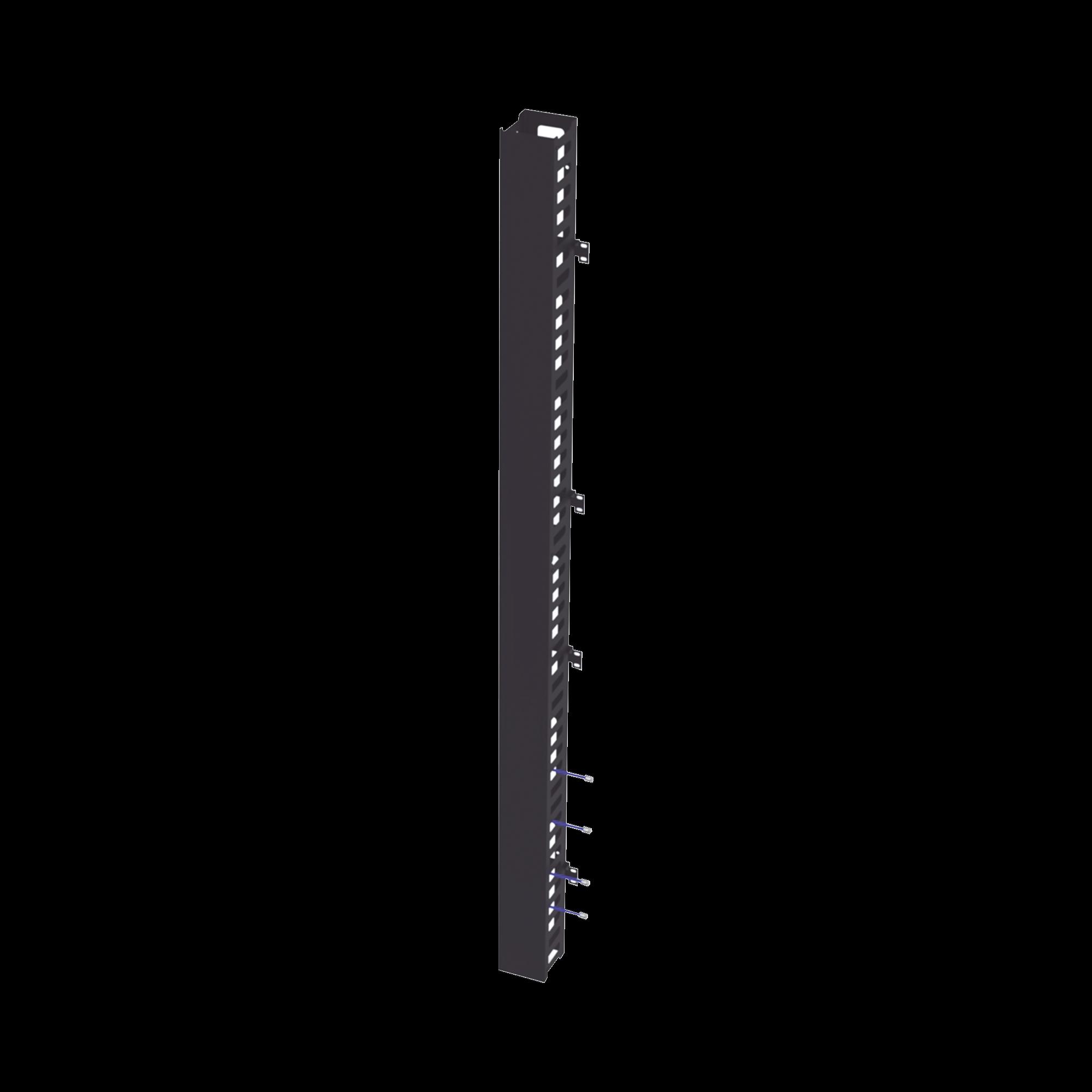 Kit Organizador Vertical de Cable Sencillo para Rack Abierto de 45 Unidades para EIQR3245 y EIRL5545DR.