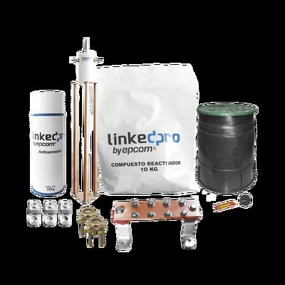 Kit de puesta a tierra LinkedPro, para protección de hasta 30 Amp.