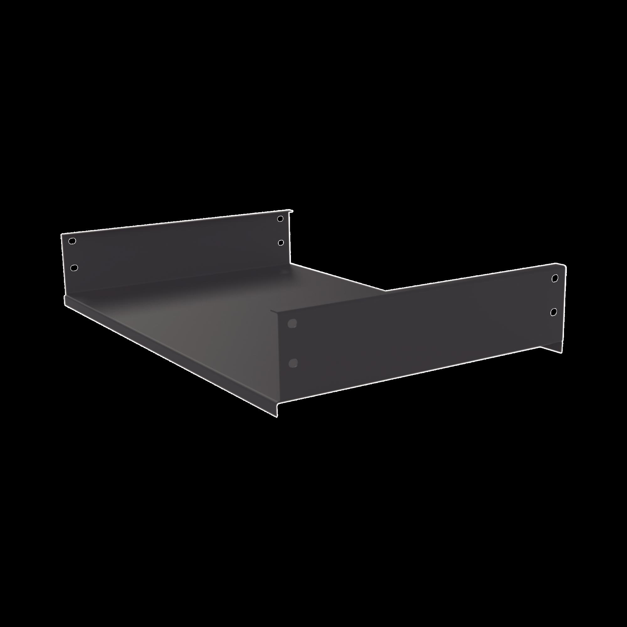 Charola Fija de Sujeción Lateral, 30 cm de Profundidad, 2U. Compatible con LP-6060-XX-UR2