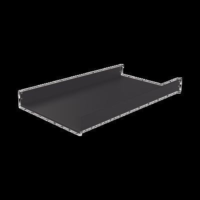 Charola Fija de Sujeción Lateral, 90 cm de Profundidad, 2U. Compatible con LP-60120-XX-UR2