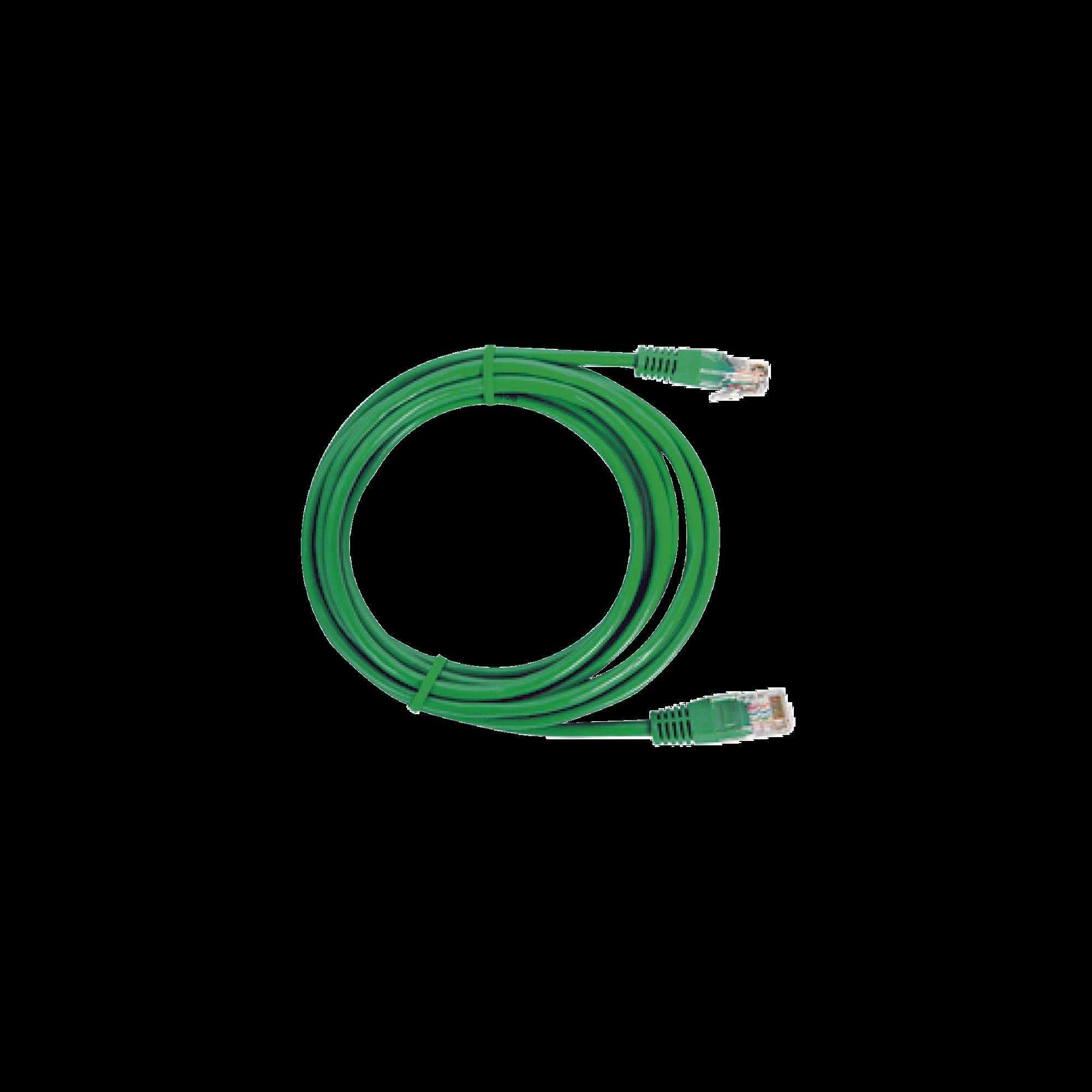Cable de parcheo UTP Cat6 - 1 m ( 3.28 Pies ) - Verde