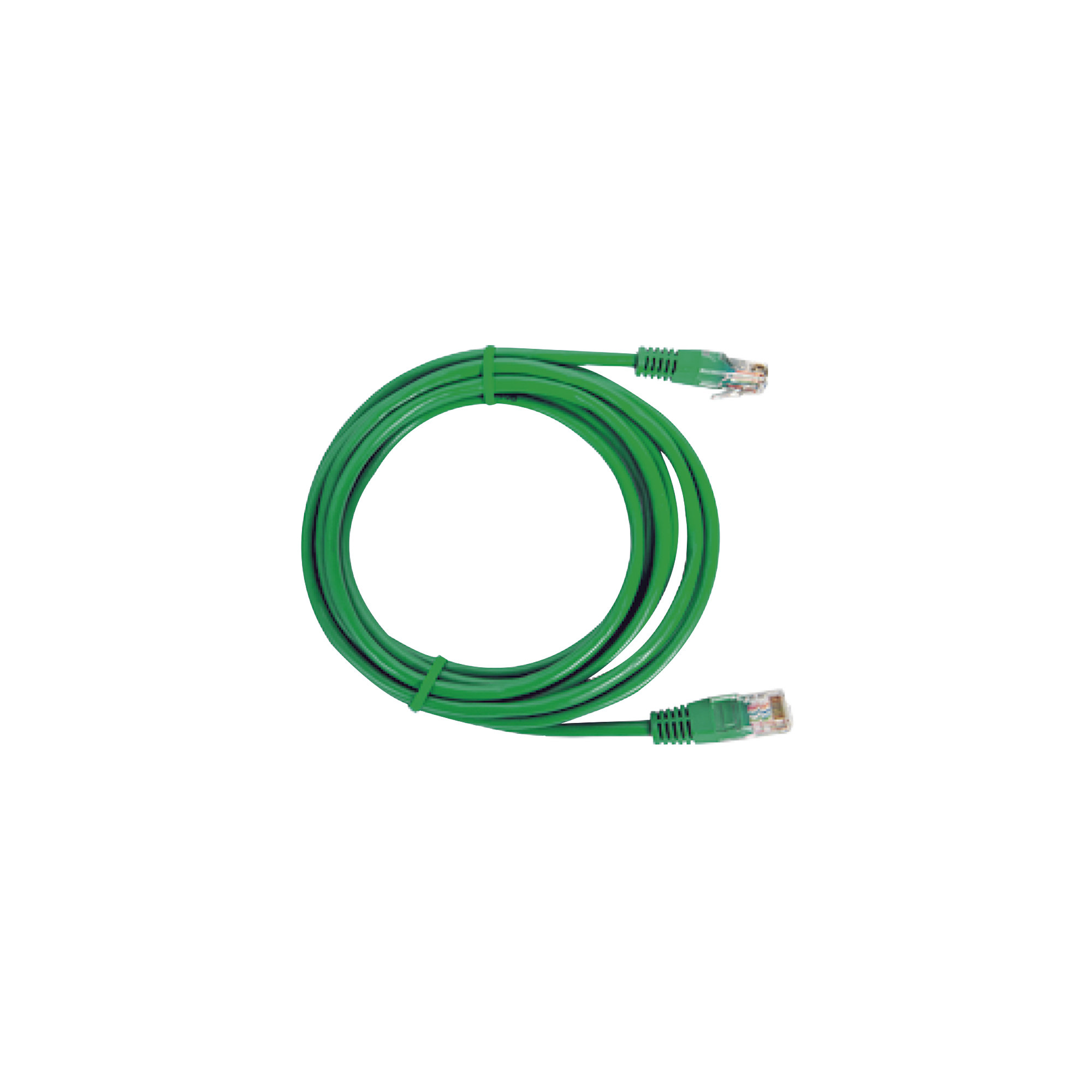 Cable de parcheo UTP Cat6 - 2 m (6.56 Pies) - verde