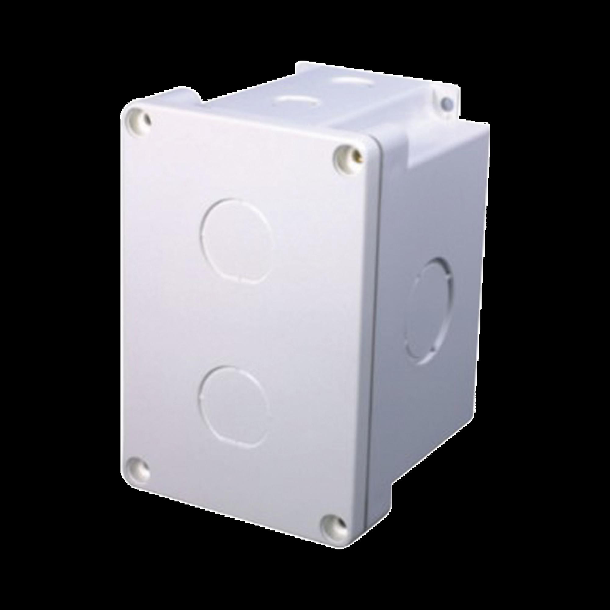 Caja Superficial a prueba de agua (IP67) con 2 salidas para Aplicaciones Industriales