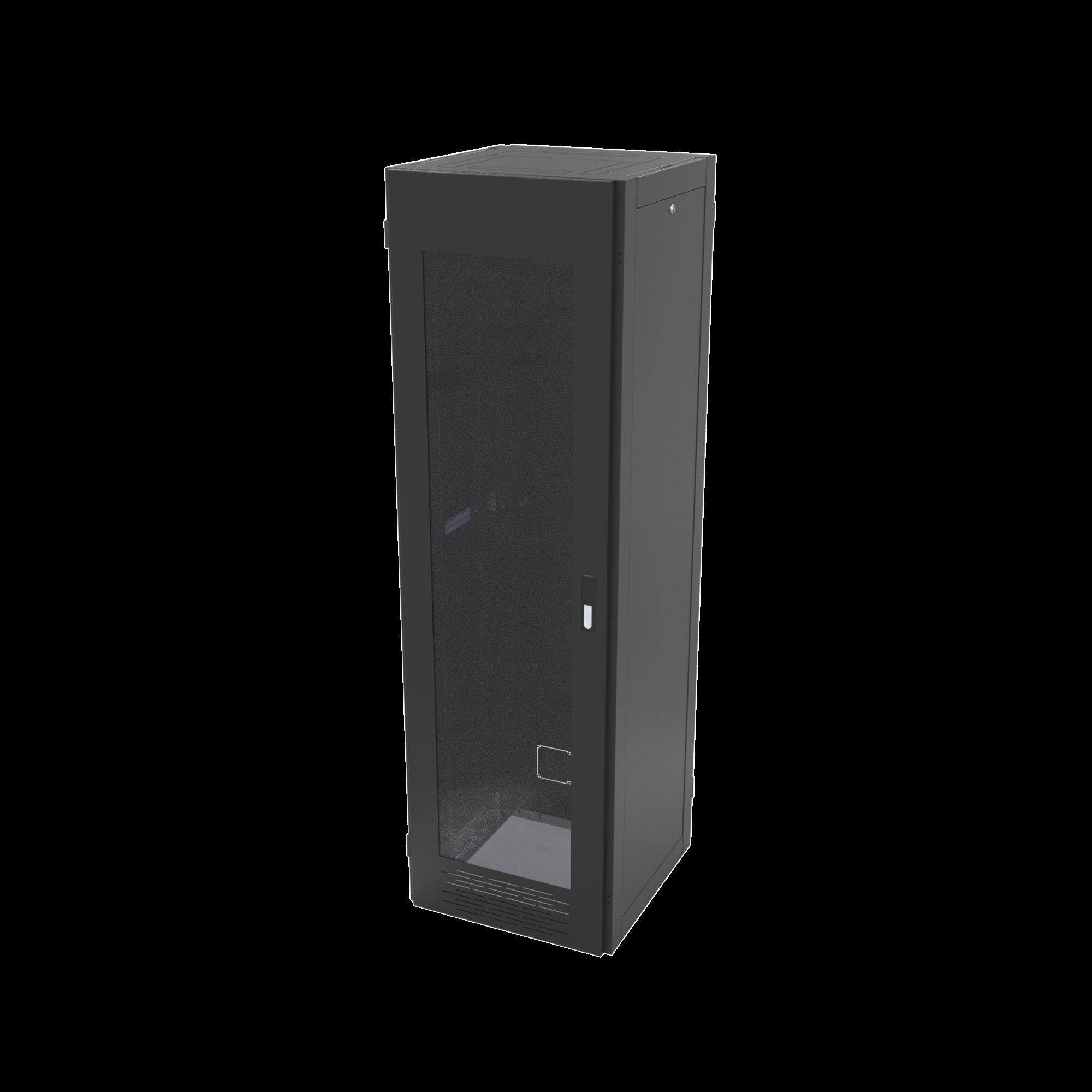 Gabinete para Telecomunicaciones Rack Estándar de 19, 42UR, 600 mm Ancho x 600 mm Profundidad. Fabricado en Acero.