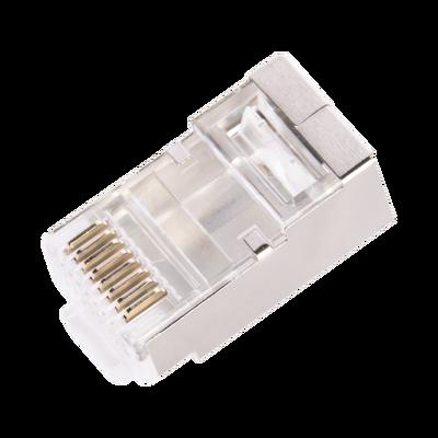 Conector RJ45 para Cable FTP/STP Categoría 6 - Blindado