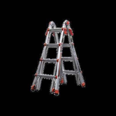 Escalera Multi-Posiciones de 5.18 m (17') para Suelos Inclinados o con Desniveles.