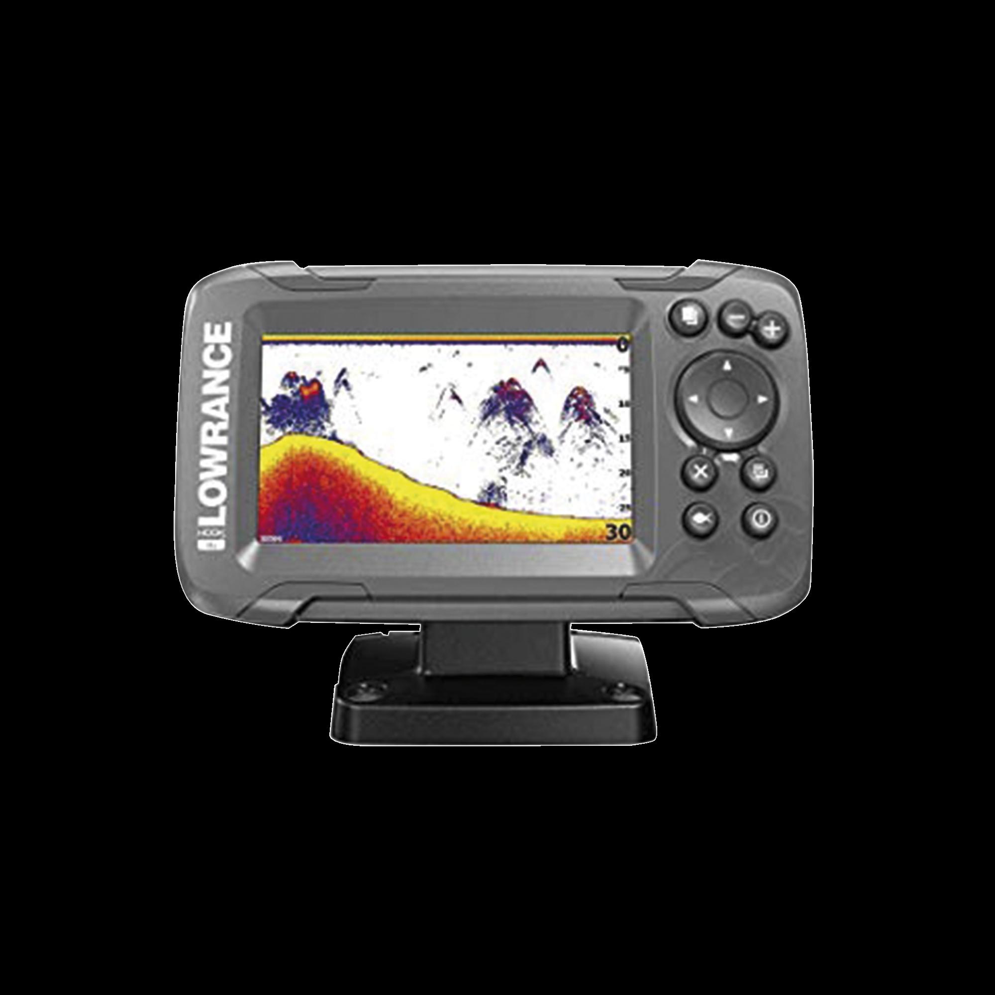 Hook2-4x Fishfinder con pantalla solar max 4 pulgadas, incluye transducer
