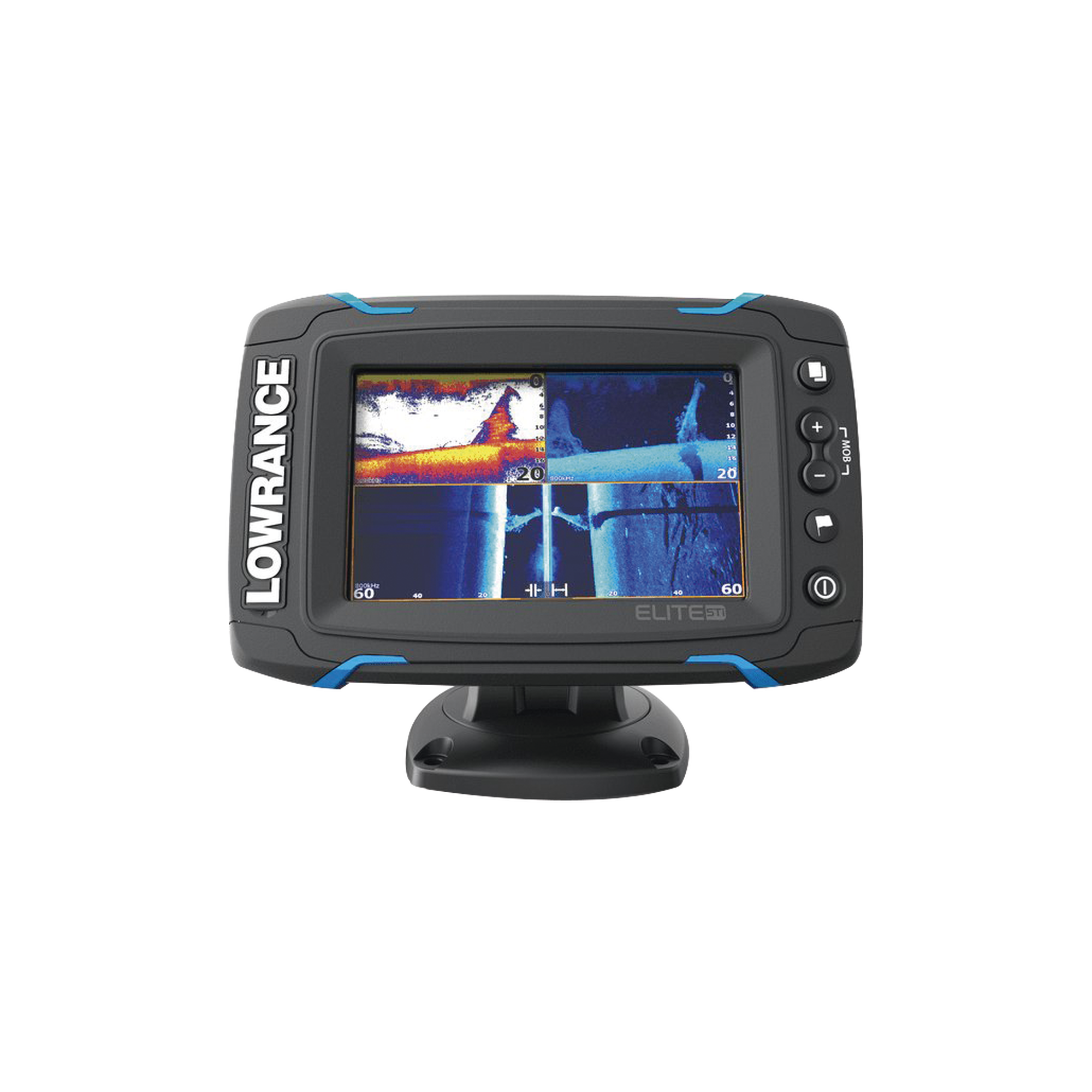 Elite 5-TI Fishfinder con pantalla touch screen de 5 pulgadas, GPS interconstruido. incluye transductor