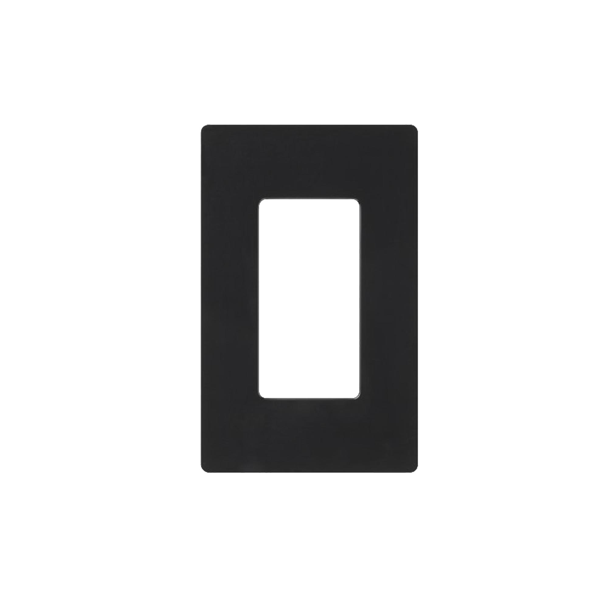 Placa de pared 1 espacio, para atenuador (dimmer), switch o control remoto PICO inalambrico.