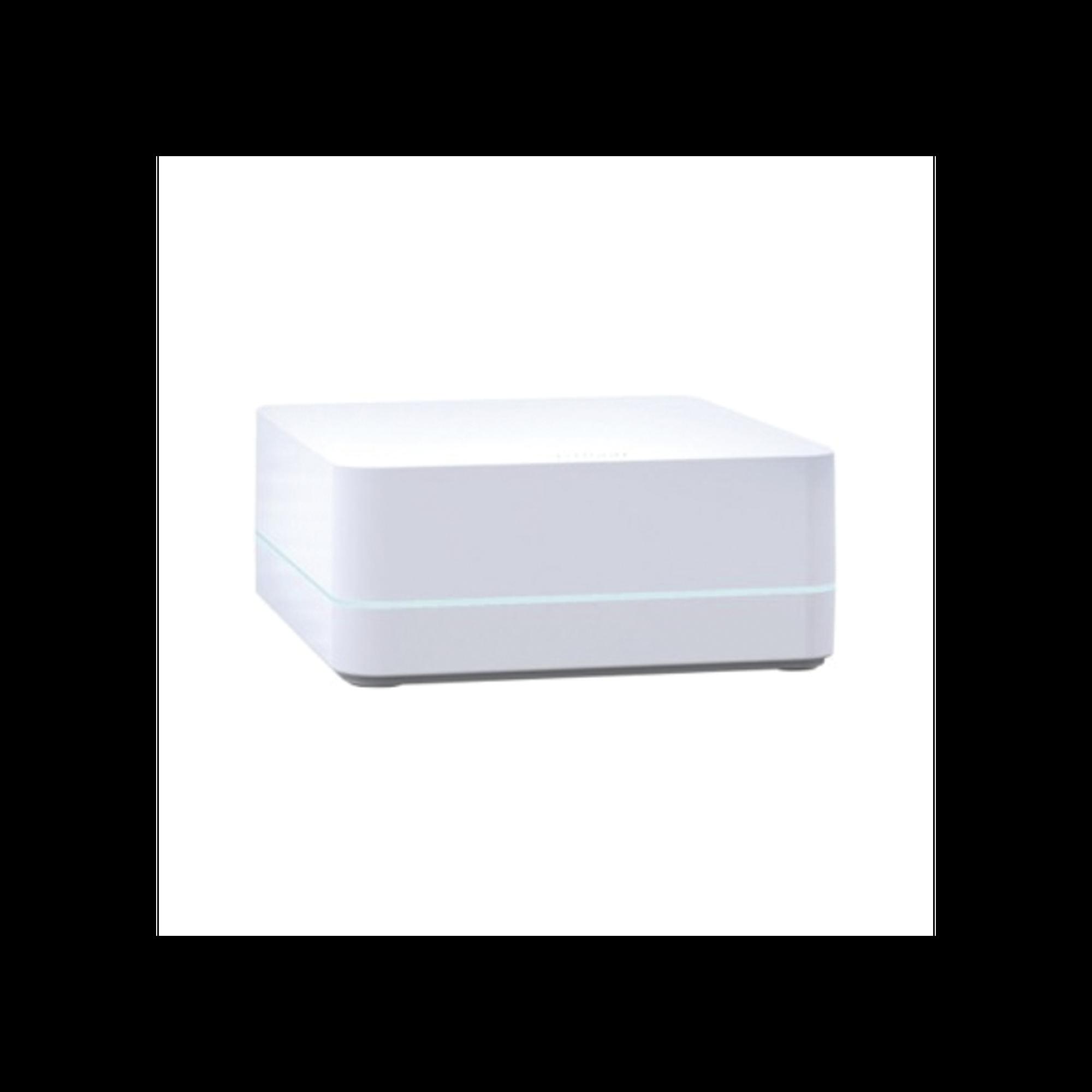Controlador HUB principal para Caseta Wireless LUTRON, soporta 50 dispositivos, 1 repetidor, programacion via App gratuita.