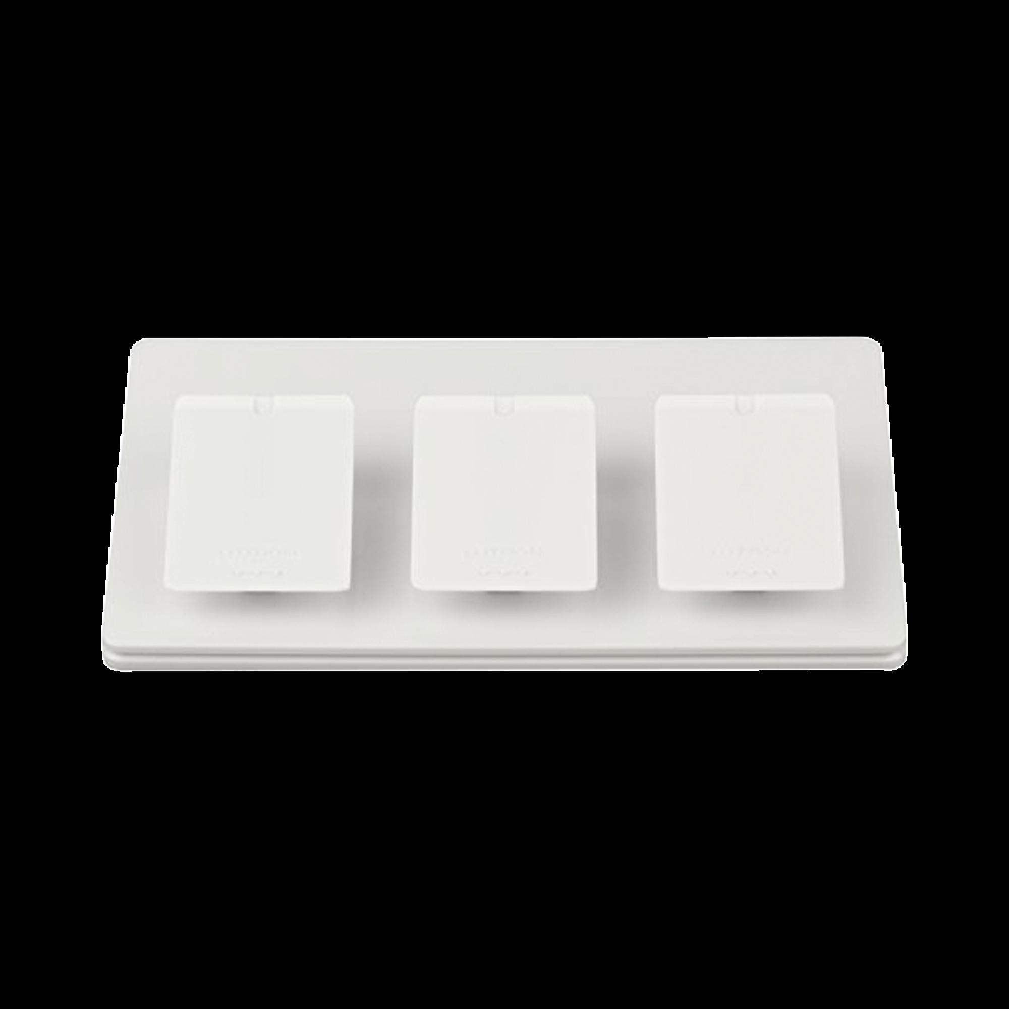 Base de mesa para controles PICO, para 3 espacios.
