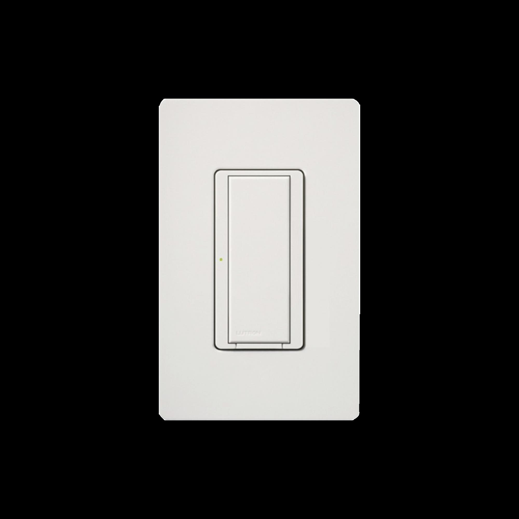 Switch on/off interruptor iluminación de 6 A, ventilador de 1/10 HP, 120 V, requiere neutro.