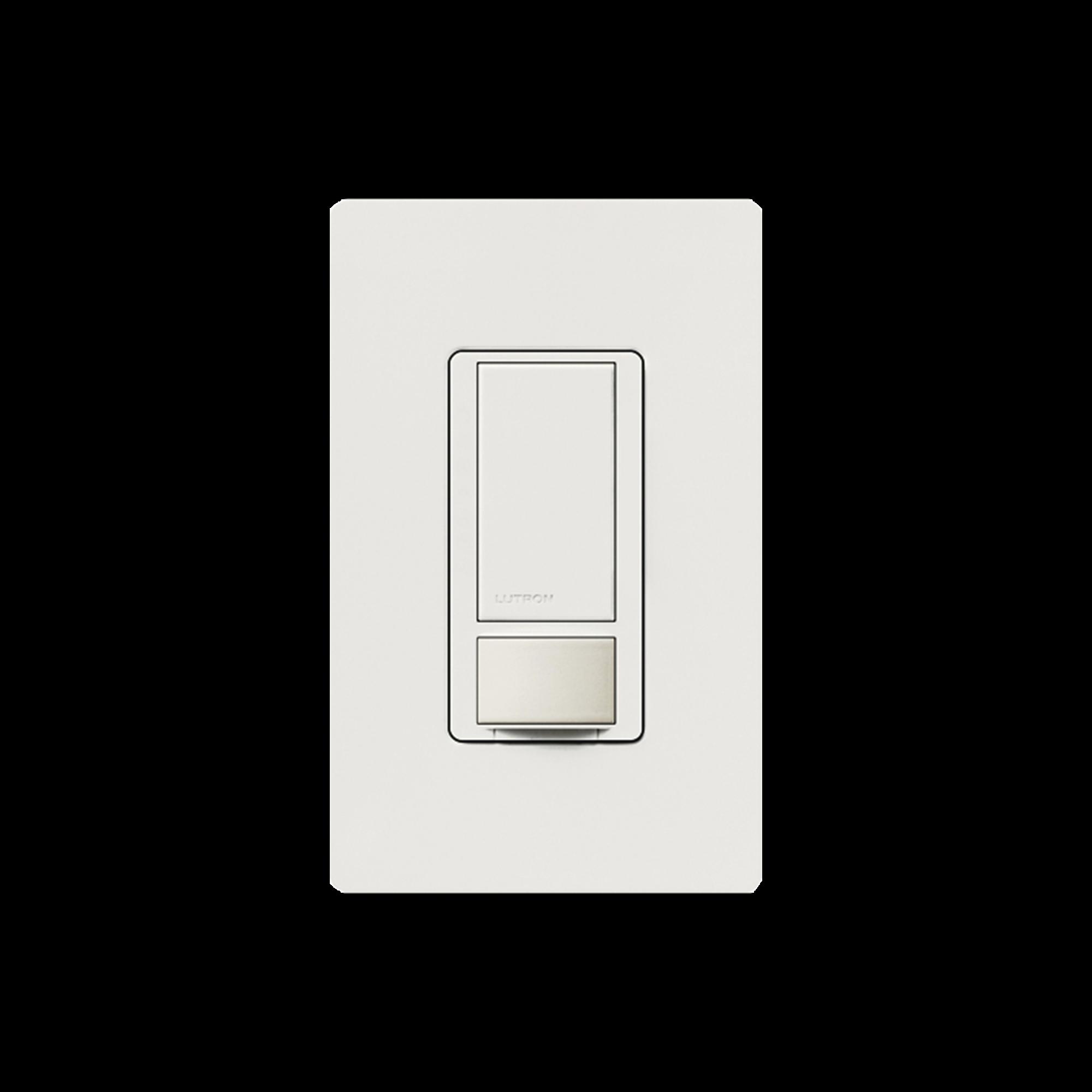 Apagado y sensor de movimiento, recomendable para baños, oficinas privadas, etc. 6AMP DV