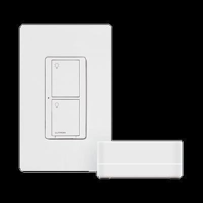 Kit de interruptor inteligente, HUB, interruptor y placa. Compatible con Alexa y GoogleHome.