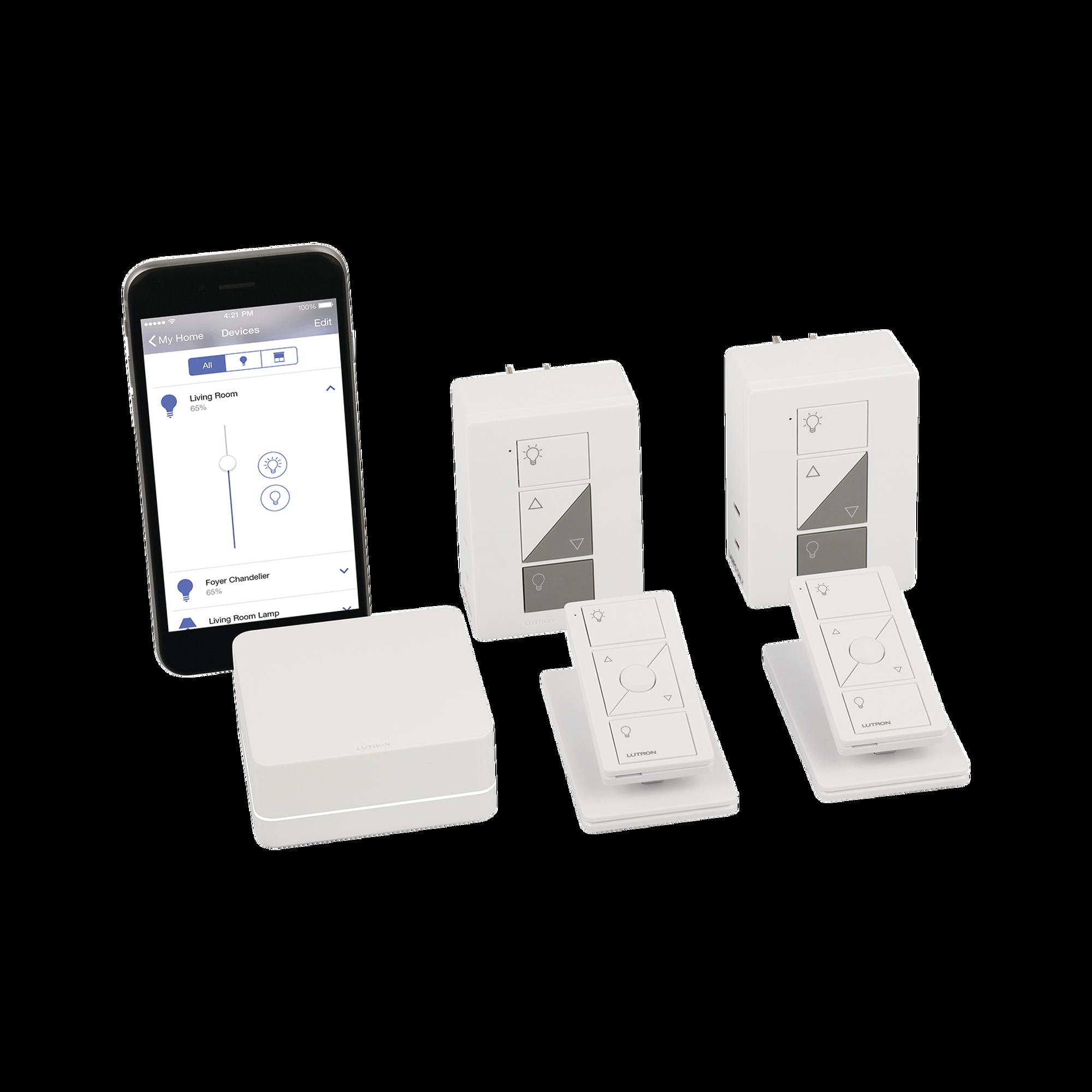Control de iluminación, Kit Hub Controlador, Atenuadores, Controles Remotos y Bases de Mesa