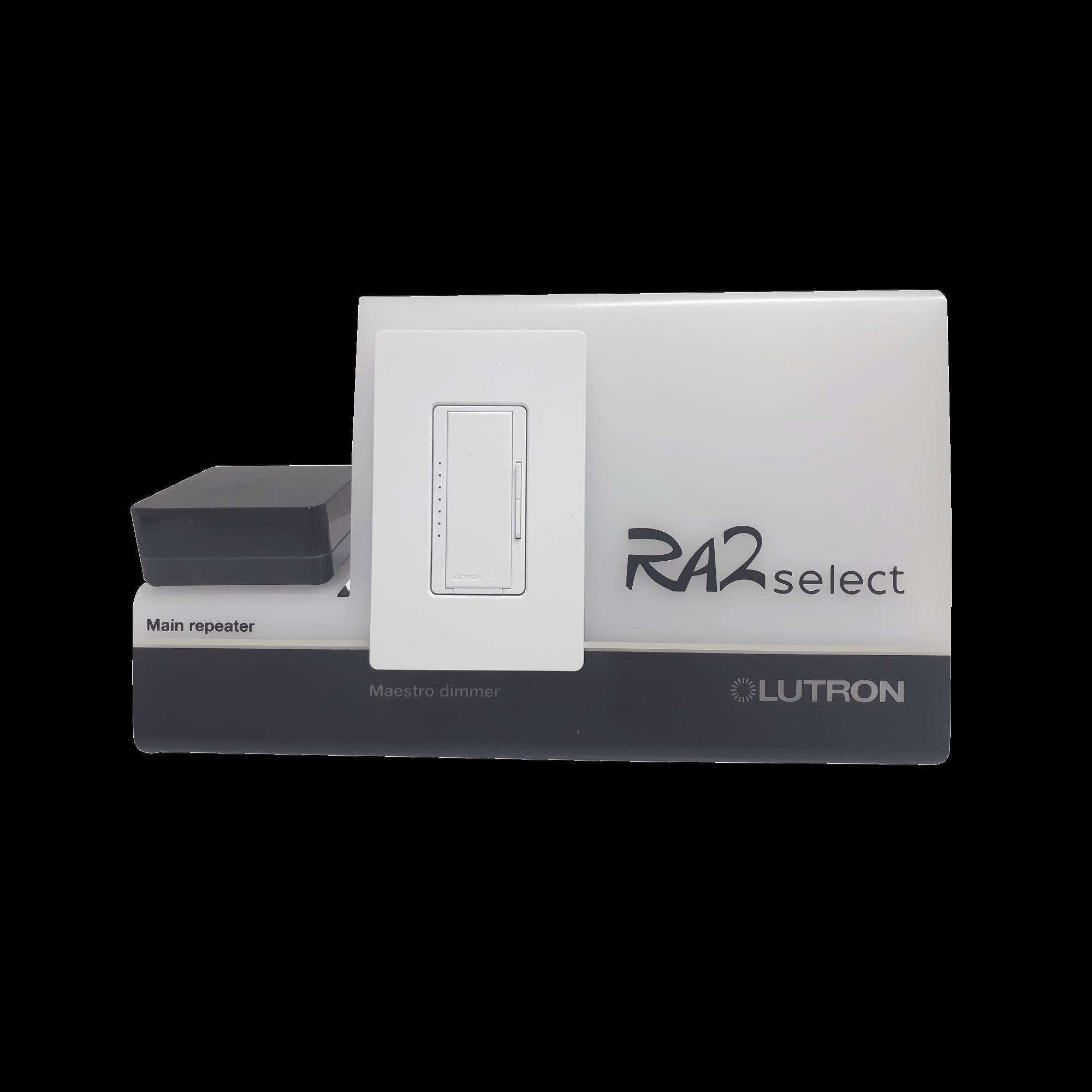 Demo de RA2 Select, genere demostraciones de la solución en control de iluminación..