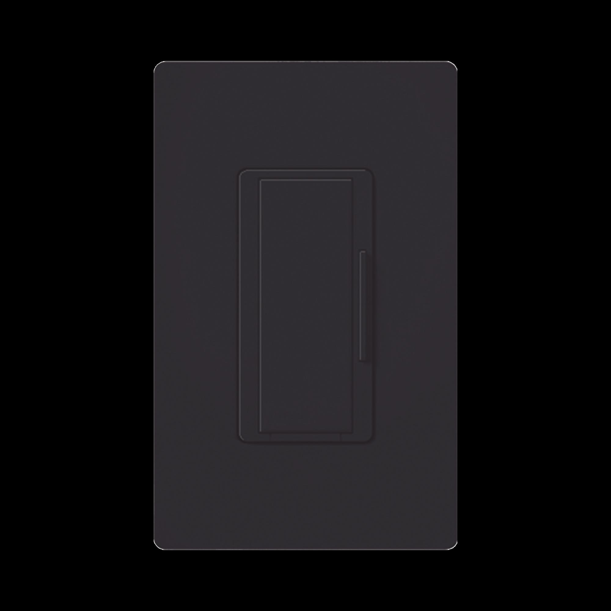 Atenuador (dimmer) Auxiliar de pared, compañero de atenuadores multilocación color negro