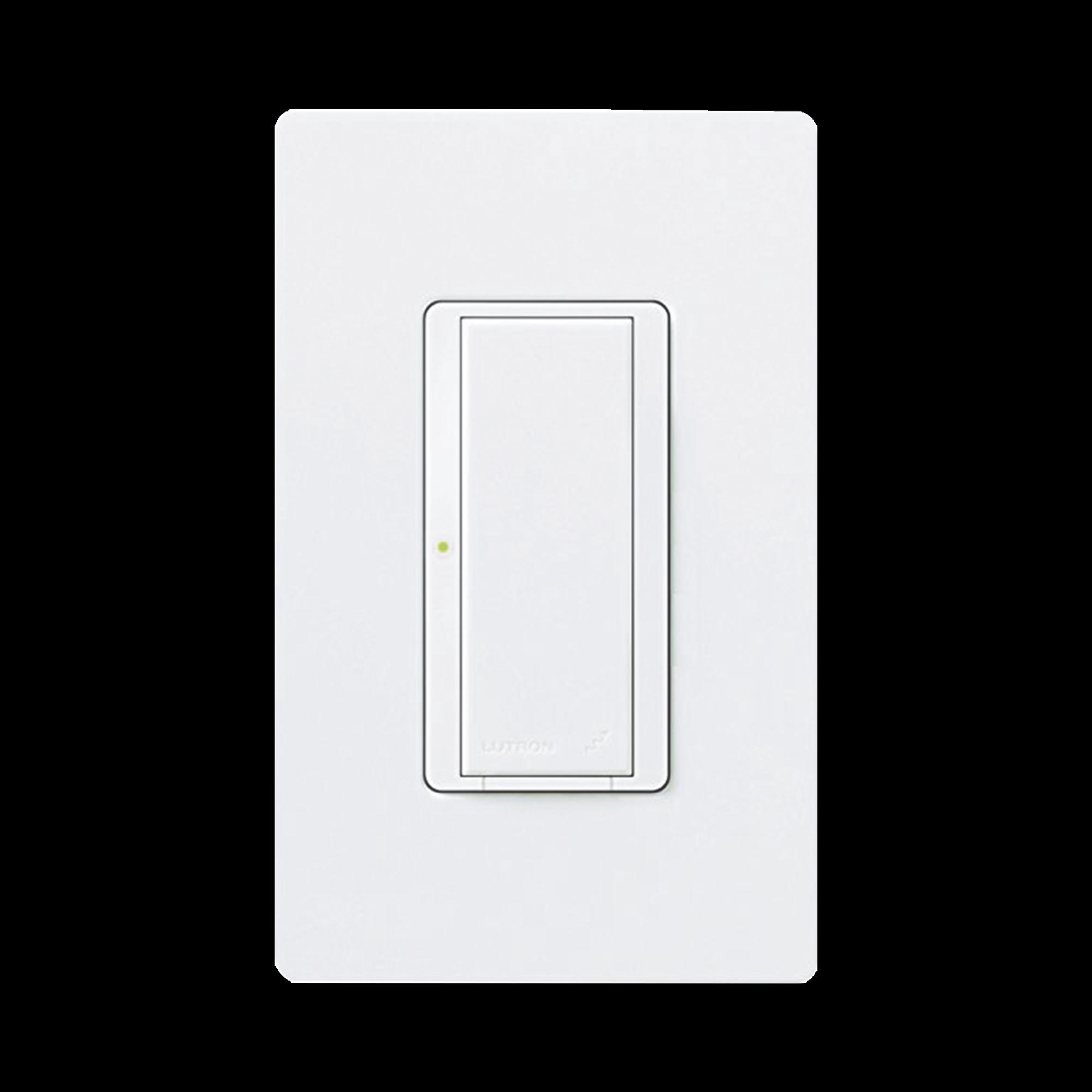 Switch on/off  RRD-8S-DV-WH de doble voltaje, un solo polo 12V/, 8A/, 1/10HP 3A en motores, apaga y enciende iluminación ó motor, NO requiere cable neutro.