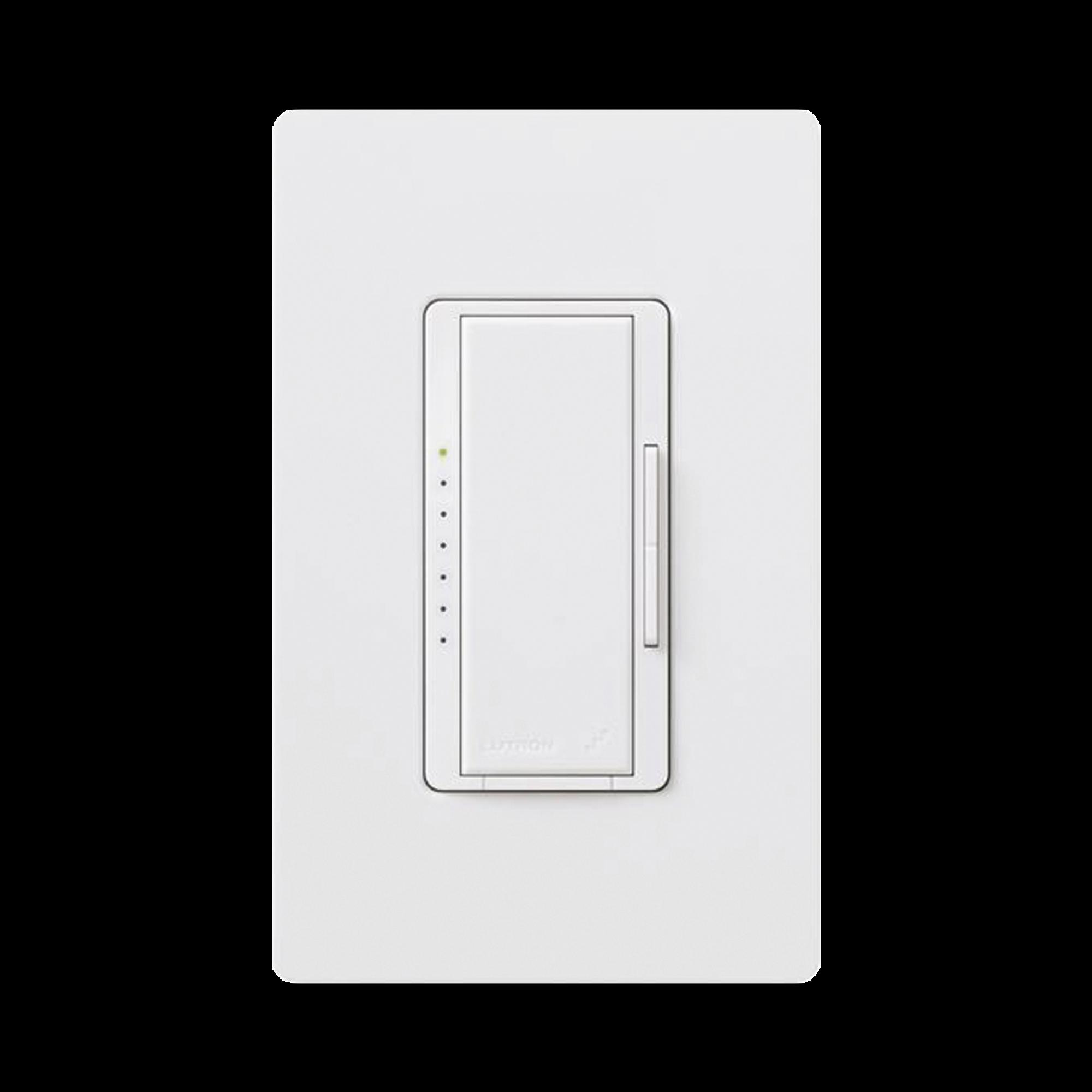 Atenuador Dimmer PRO para linea RadioRa2 y RA2 Select, el cable neutro es opcional 250W LED / CFL