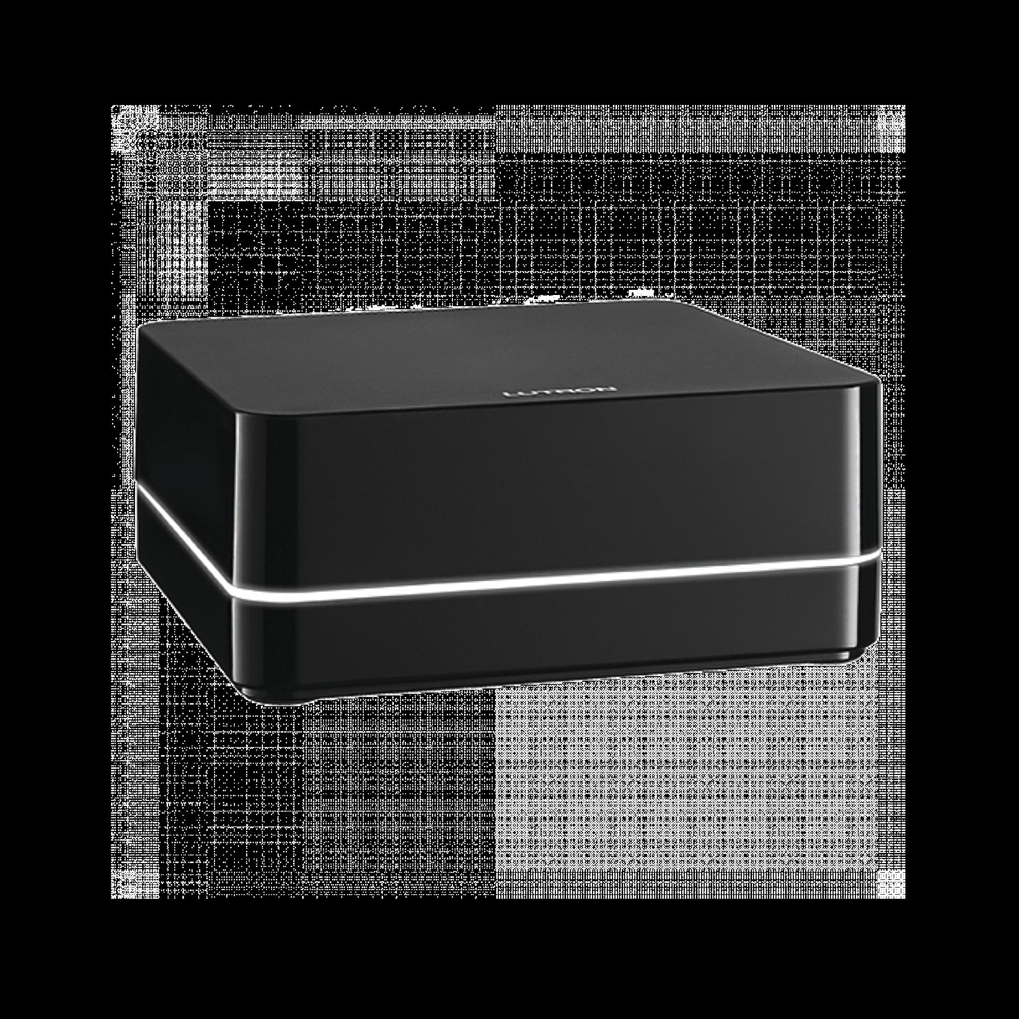 Controlador HUB principal para RA2 Select LUTRON, soporta 100 dispositivos, 4 repetidores, programacion via App gratuita.