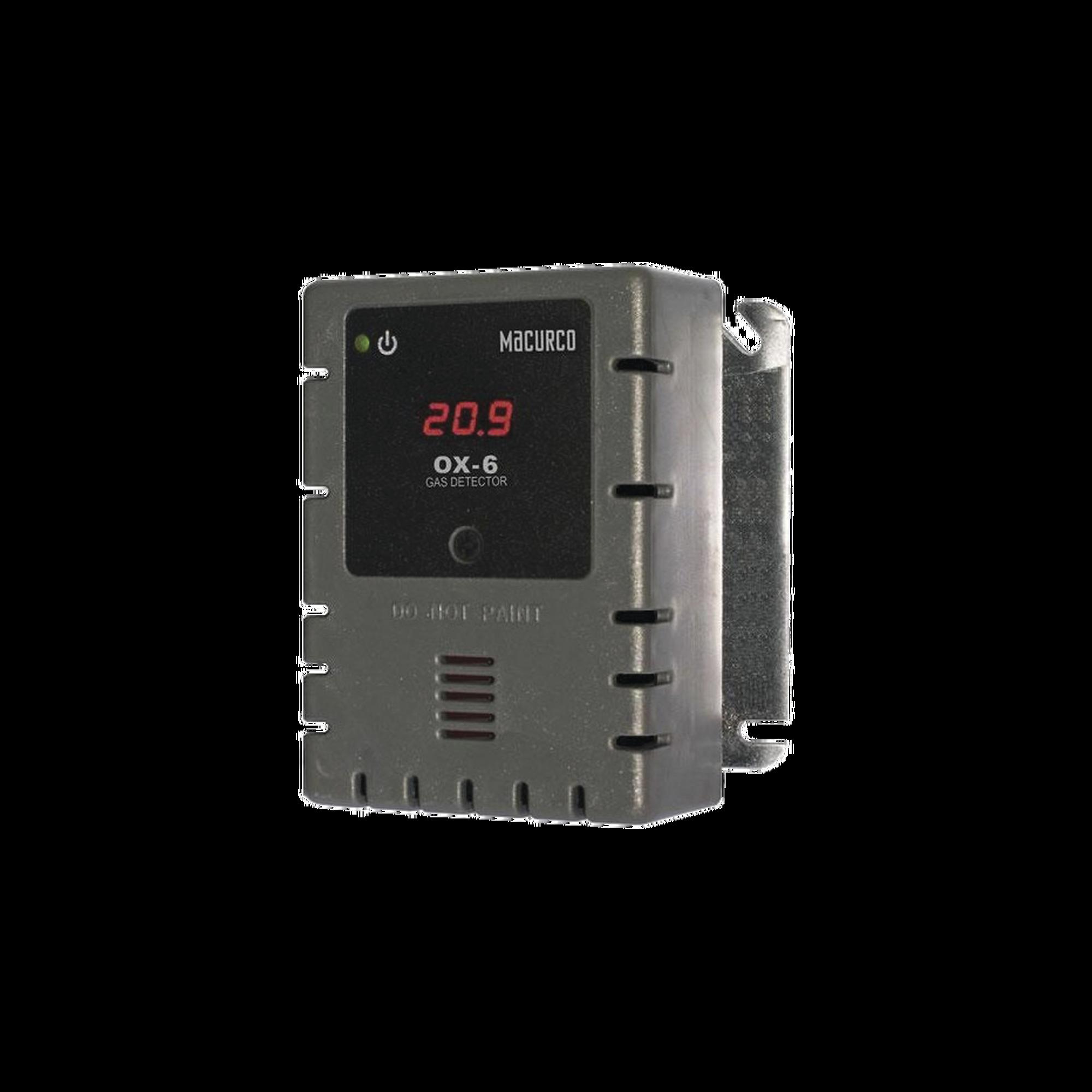 Detector, Controlador y Transductor de Oxígeno para Panel de Detección de Incendio