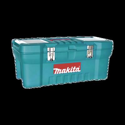 """Caja de herramientas de 24"""" con doble cerradura de metal (60 x 25 x 30 cm)"""