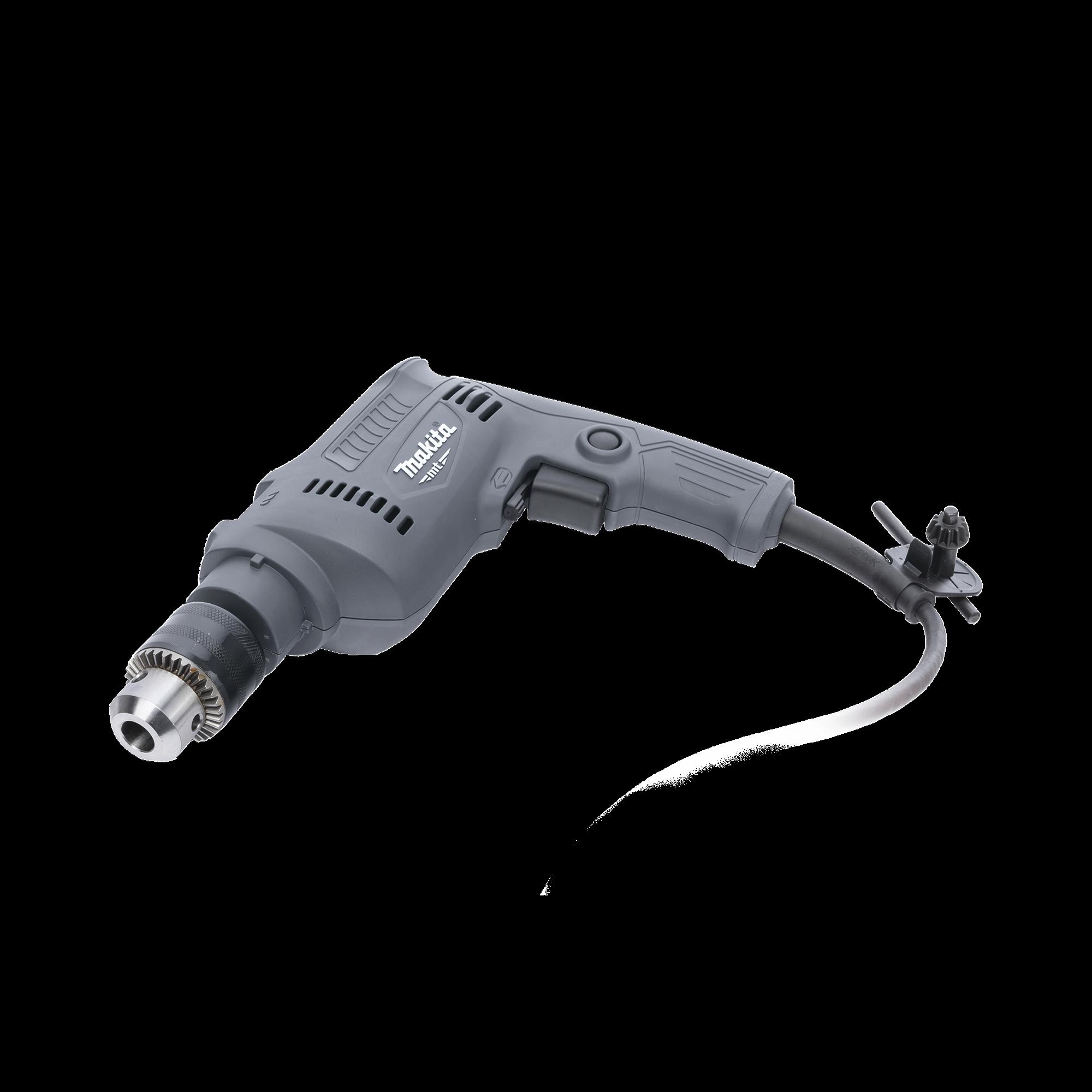 Rotomartillo 5/8 2900 RPM  potencia de entrada 500 Watts 110 Vca, incluye llave de broquero y empuñadora lateral.