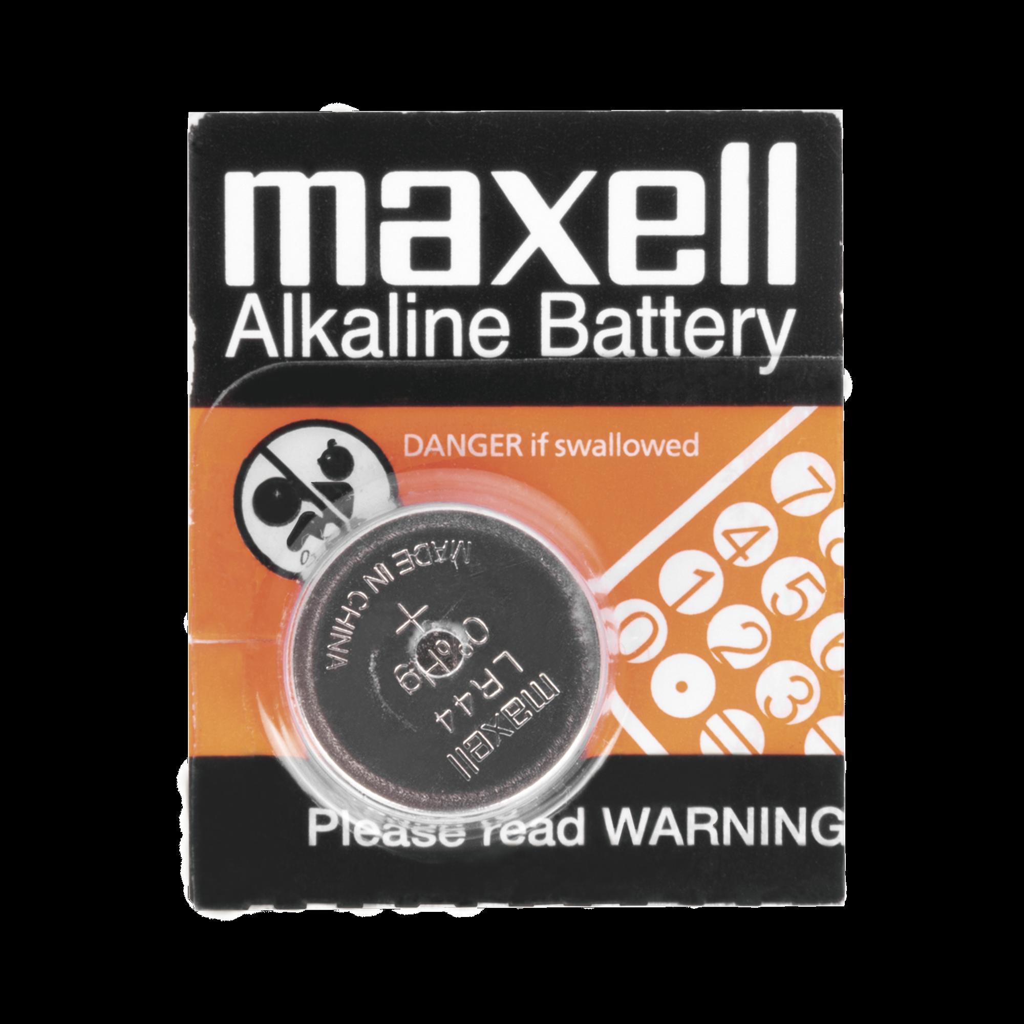 Batería Alcalina tipo botón de 1.5 V 110 mAh