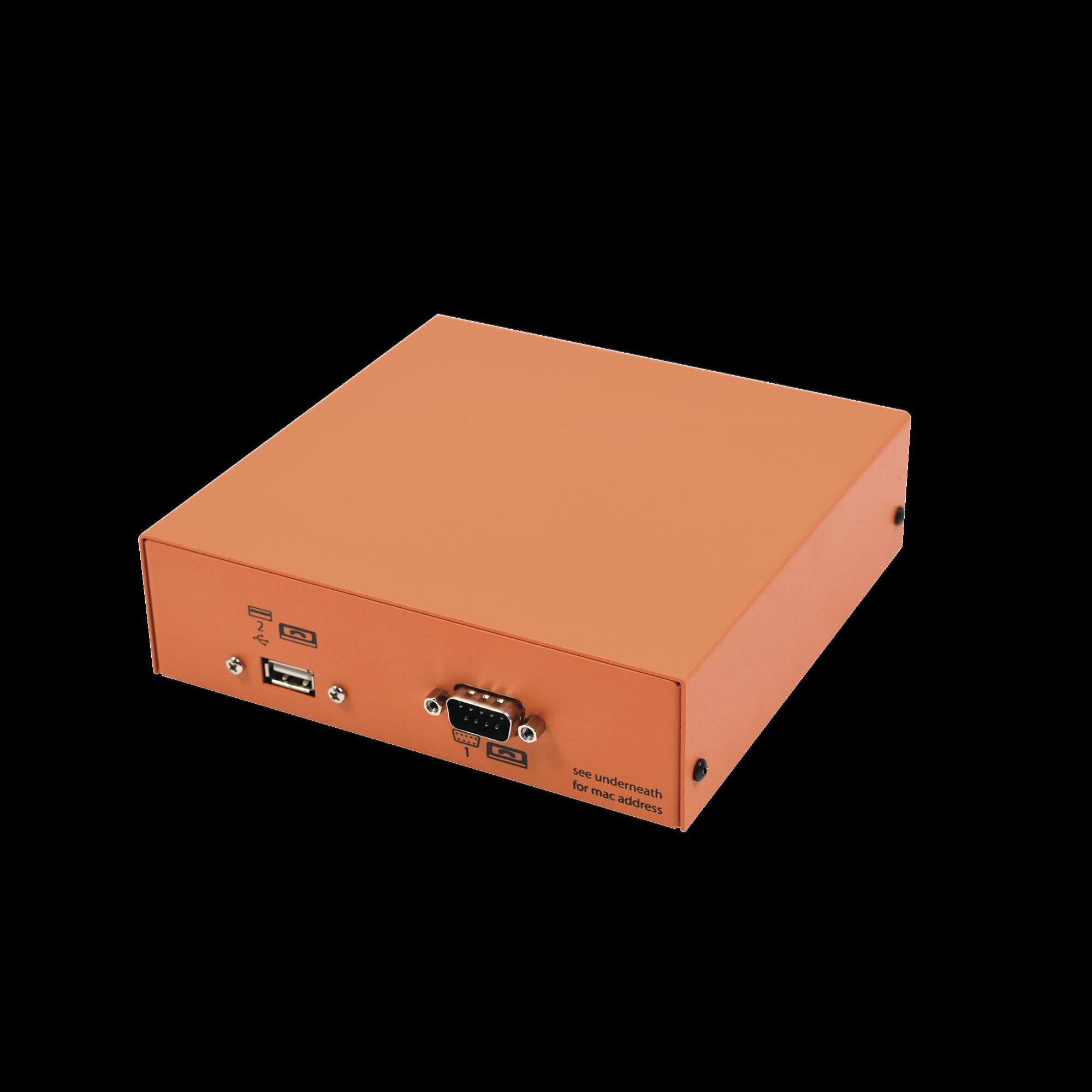 Receptora de alarmas IP Universal, ideal para su central de monitoreo, recibe eventos  TCP/IP o  GPRS, Mini014GV2 y PRO4G,