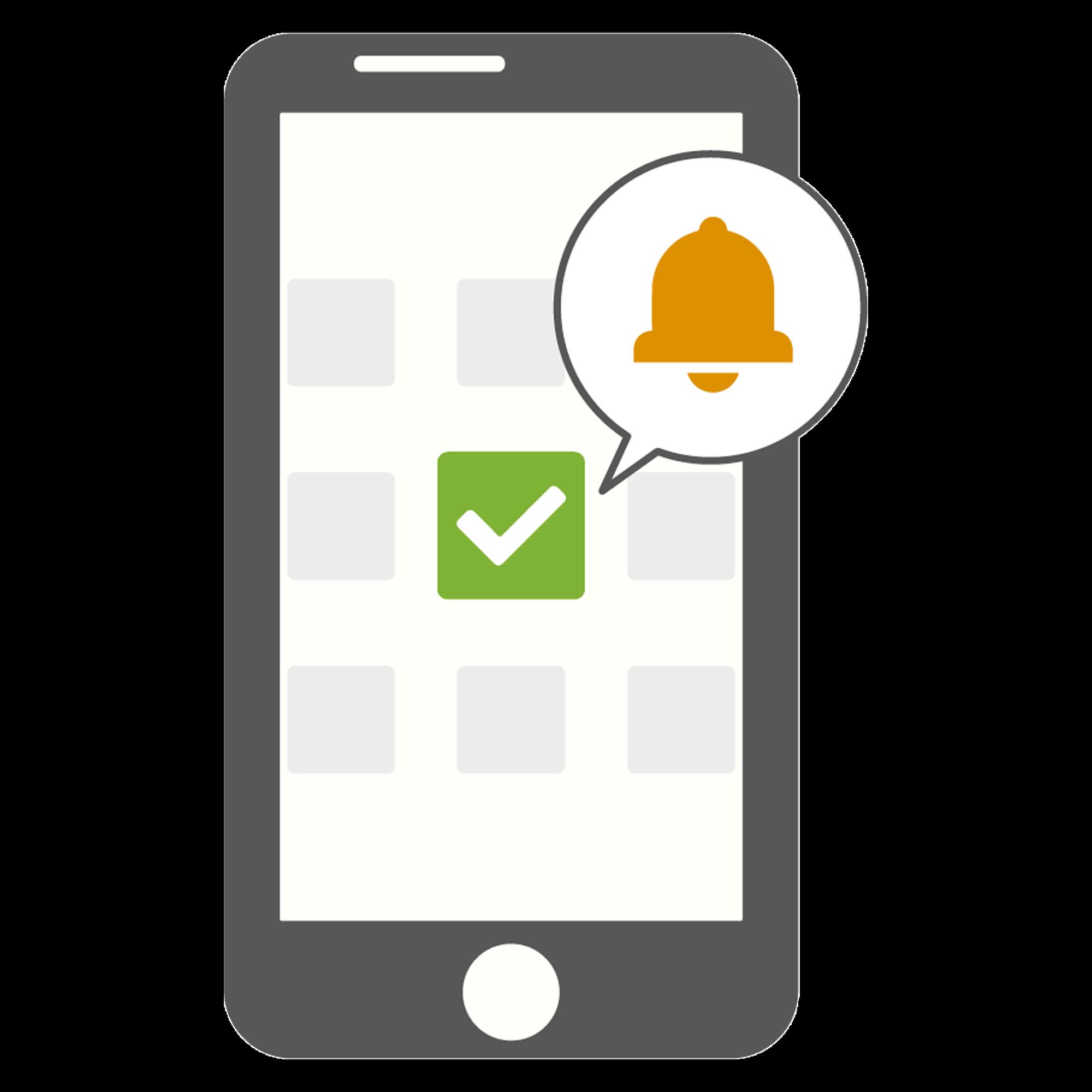 Licencia, Modulo, Notificacion envió de mensajes de texto a una App en celular del cliente. Para su central de monitoreo.
