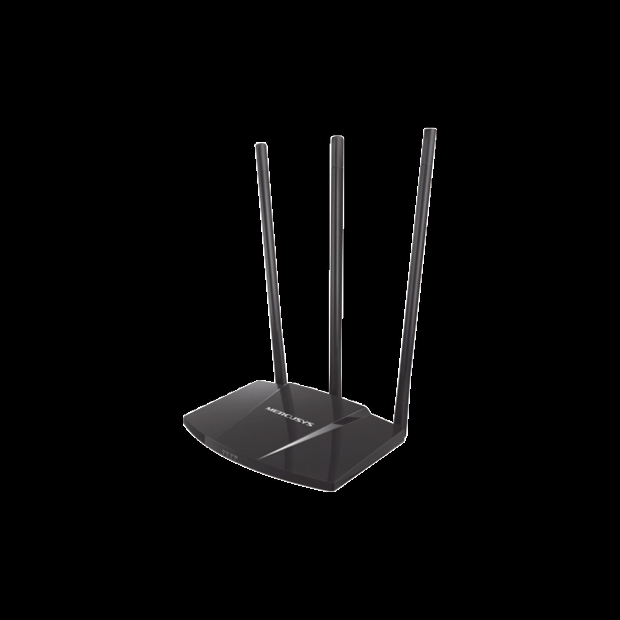 Router de alta potencia 300 Mbps 1 Puerto WAN 10/100 y 3 Puertos LAN 10/100