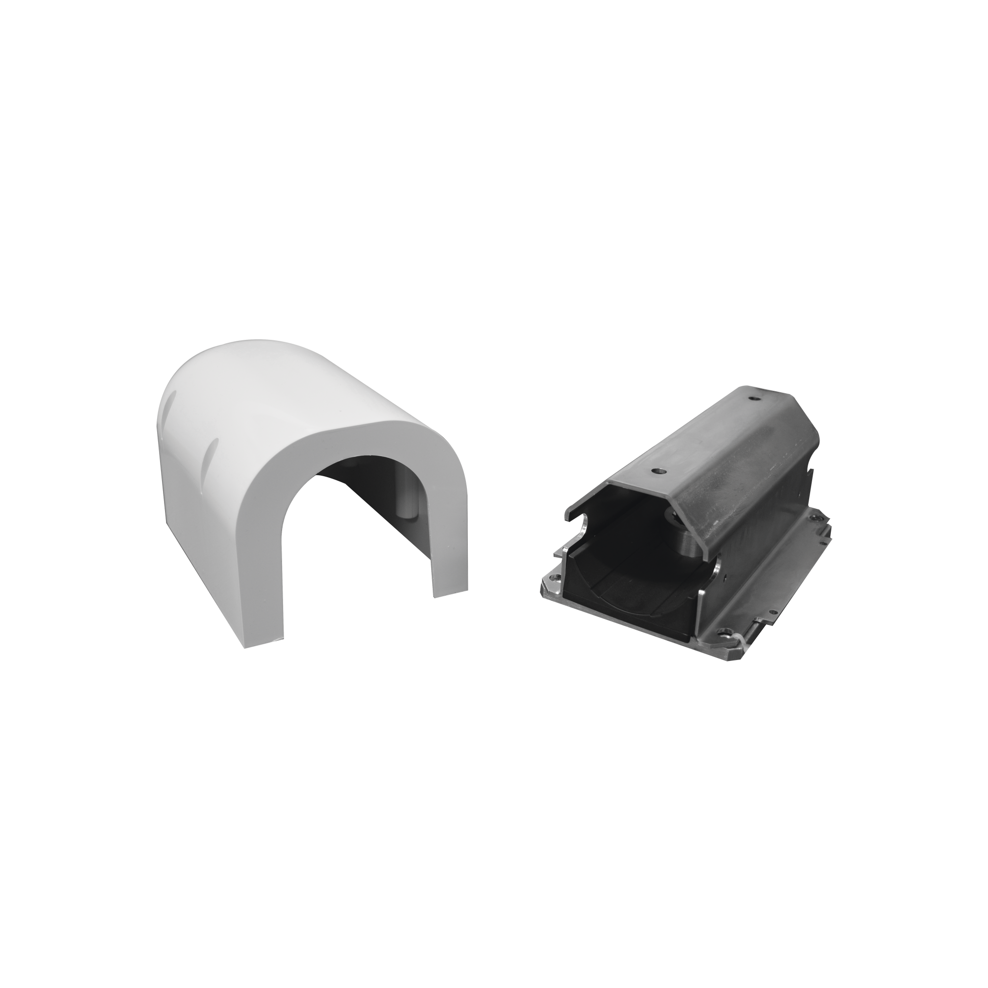 Tasca para instalacion de mastil tipo S para barreras FAAC 620/615
