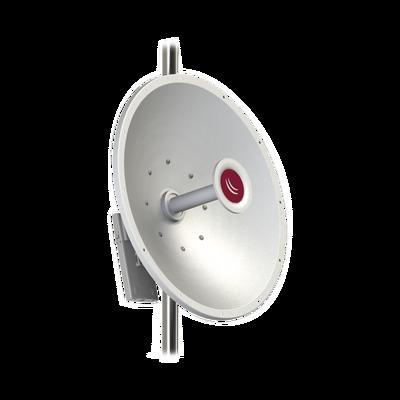 (mANT30 PA) Antena direccional 4.7 - 5.8 GHz, 30dBi de ganancia conector SMA Hembra. Con montaje de alineación de precisión
