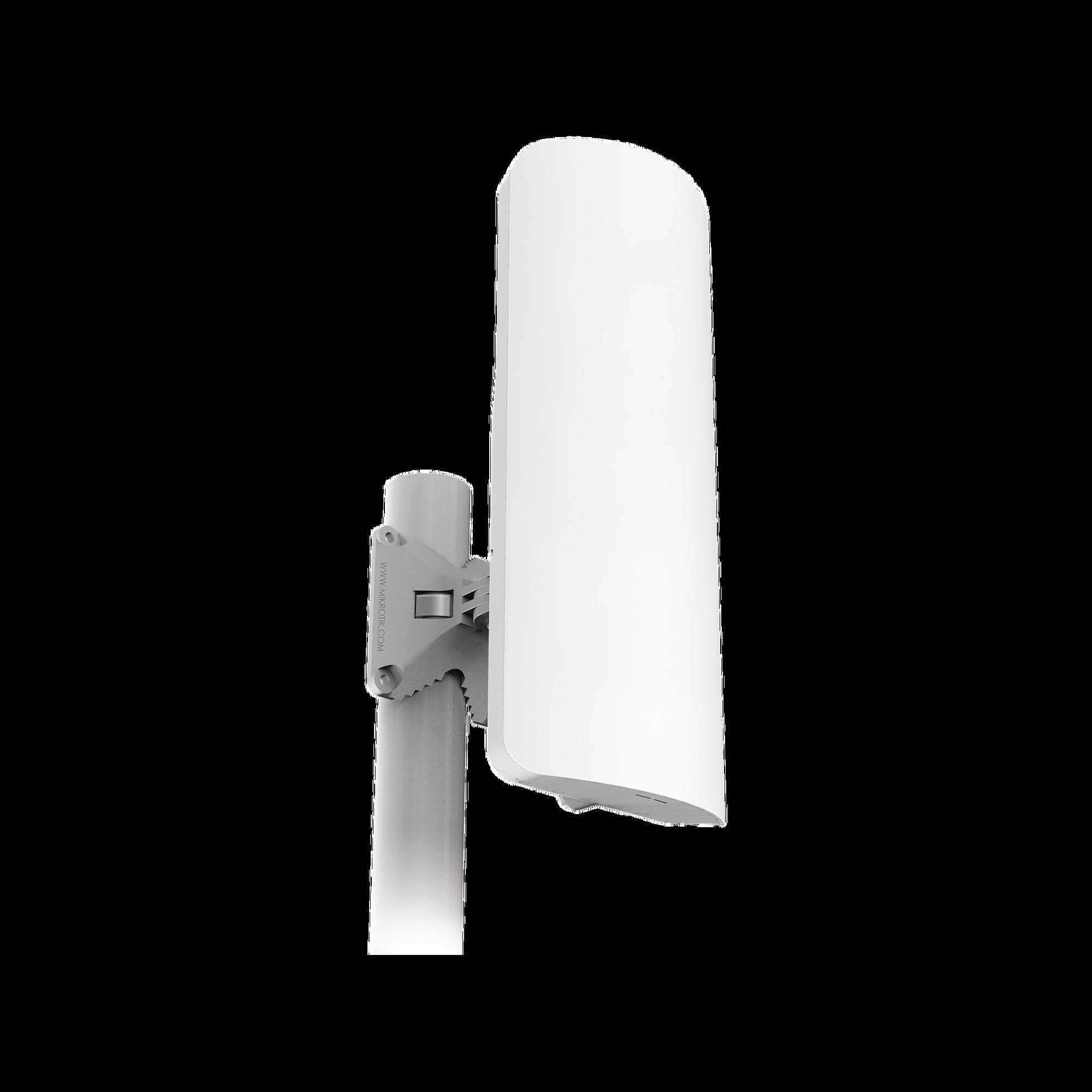(mANTBox 2 12s) Punto de Acceso PTP y PTMP en 2.4 GHz con Antena Sectorial Integrada de 12 dBi y 120? de Apertura, Hasta 1000 mW de Potencia