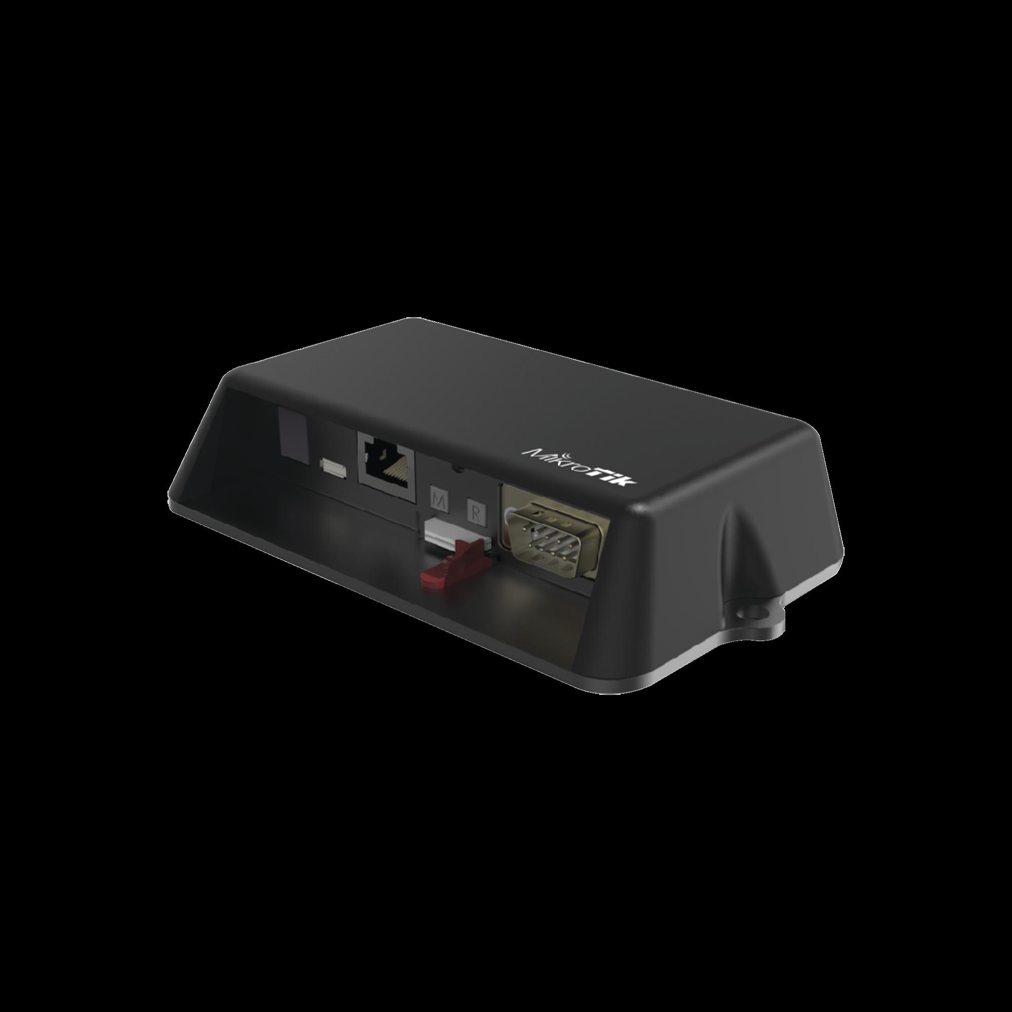 (LtAP mini LTE) Modem 4G(LTE) para SIM, con Wi-Fi 2.4 GHz, Para uso en vehículos, c/puerto fast ethernet, 2 SIM, Bandas(2,4,5,12)