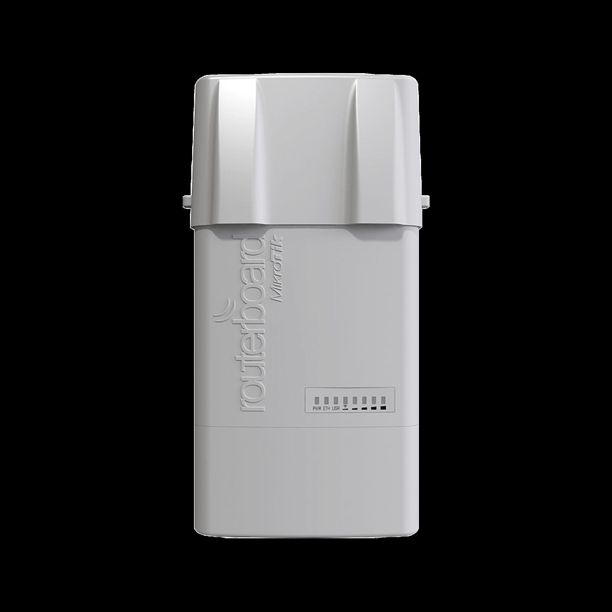 (BaseBox 6) Punto de Acceso y Cliente Conectorizado en 6 GHz, Cuenta con una Ranura miniPCIe para una tarjeta Inalámbrica Extra