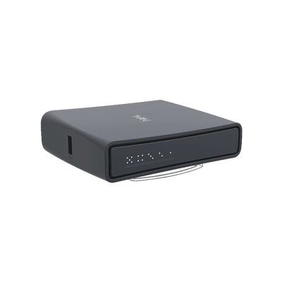 (hAP ac lite Tower) 5 Puertos Fast Ethernet, WiFi Doble Banda 802.11ac, Base tipo Torre