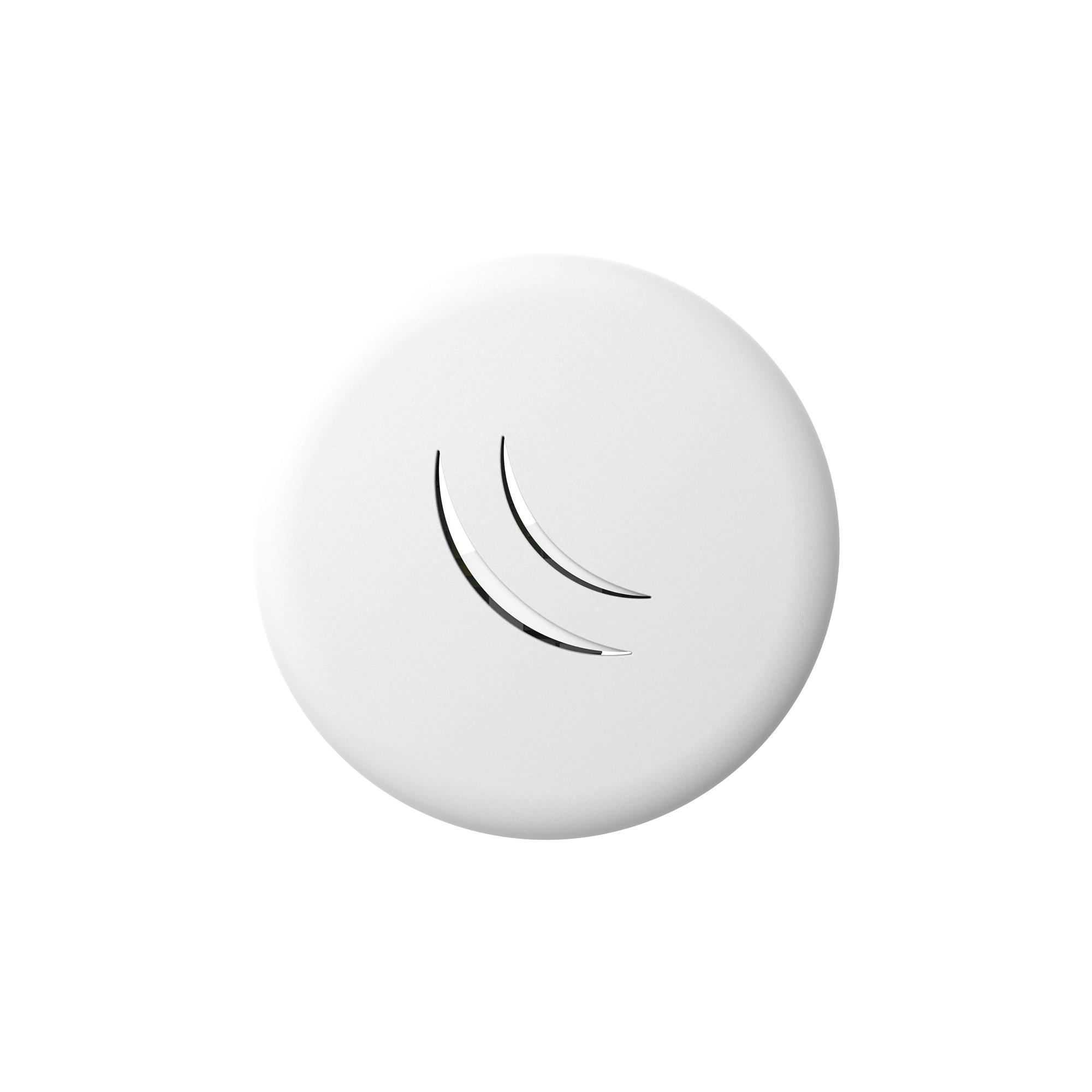 (cAP lite) Punto de acceso para interior de 2.4GHz con antena integrada de 1.5 dBi, hasta 158mW de Potencia