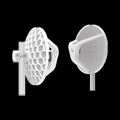 "(Wireless Wire Dish) Enlace completo de 60GHz, Hasta 2Gbps, ""Listos para Conectarse"""