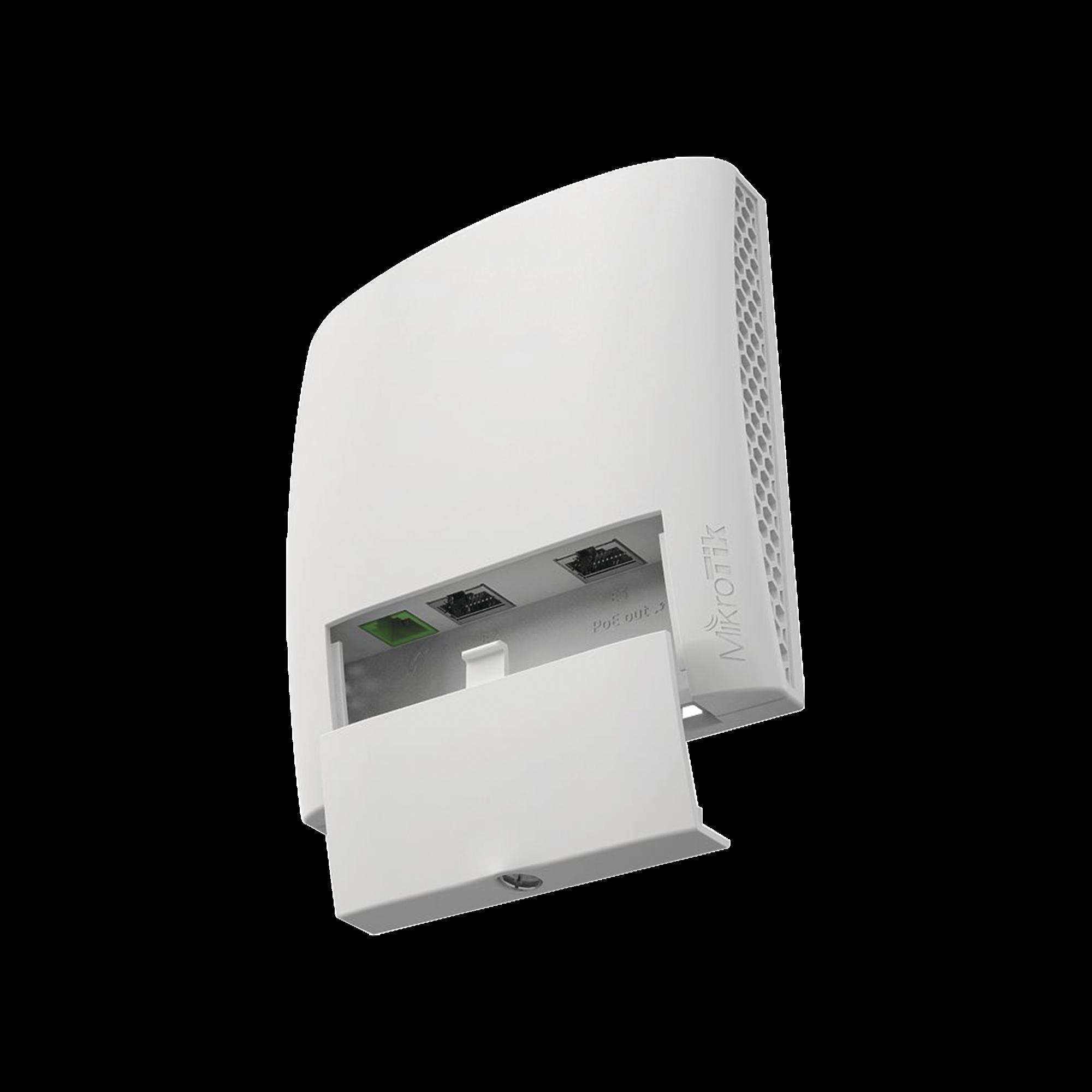 (wsAP ac lite) Punto de Acceso WiFi para Pared, Doble banda simultánea en 2.4 y 5 GHz b/g/n/ac