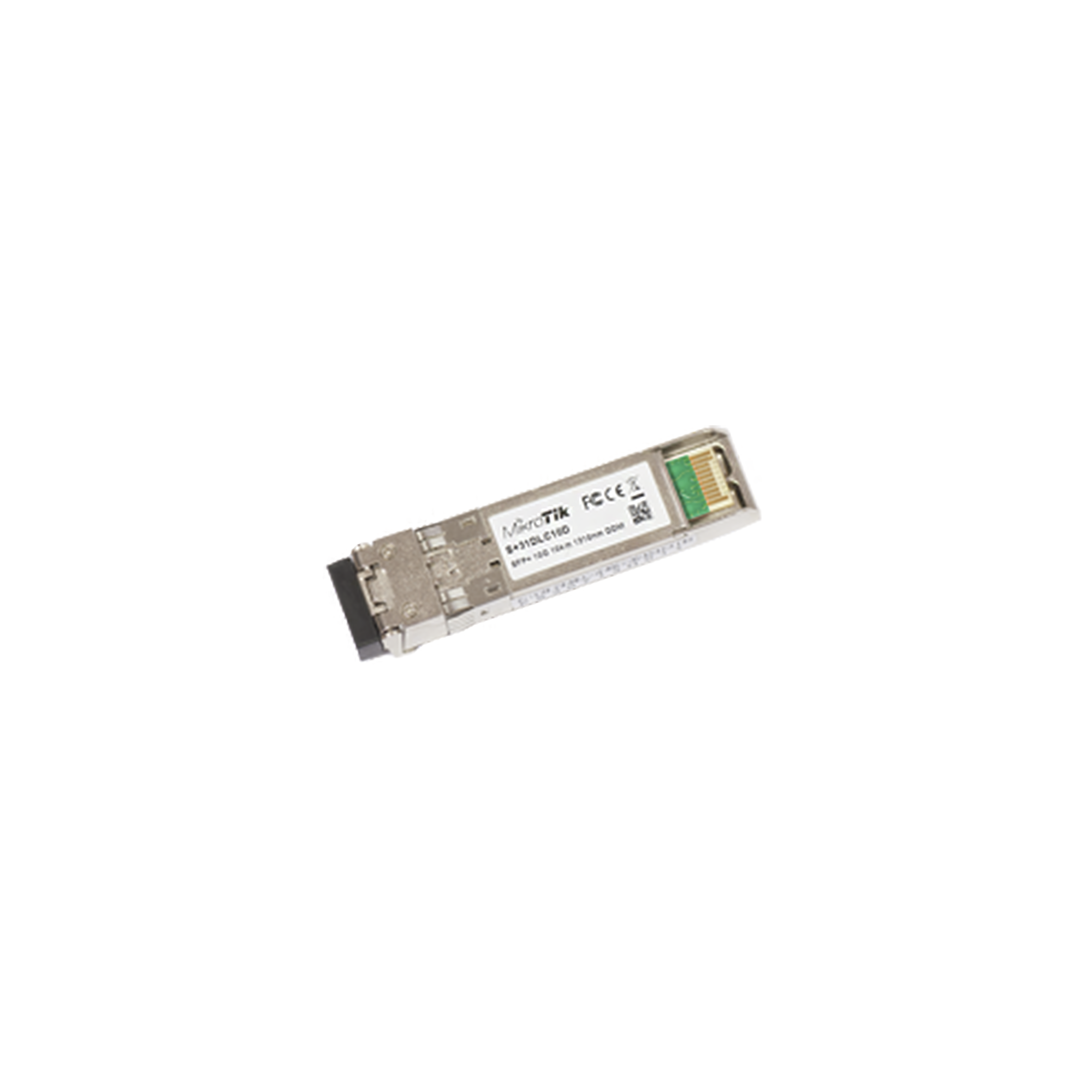 Transceptor MiniGbic SFP+ 10G LC Duplex para fibra Mono Modo 10 Kms