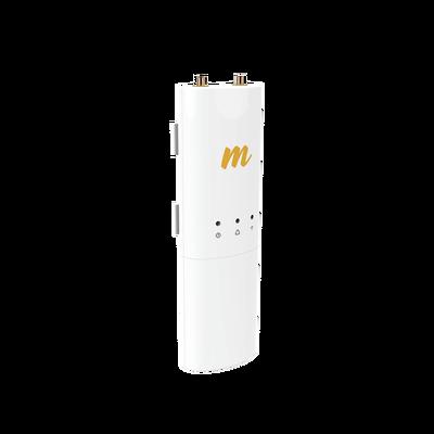 Radio modular hasta 500 Mbps de 4.9-6.4 GHz, IP55, 2x2:2 MIMO, Monitoreo a través de la nube, Adaptación automática al entorno, no incluye inyector POE
