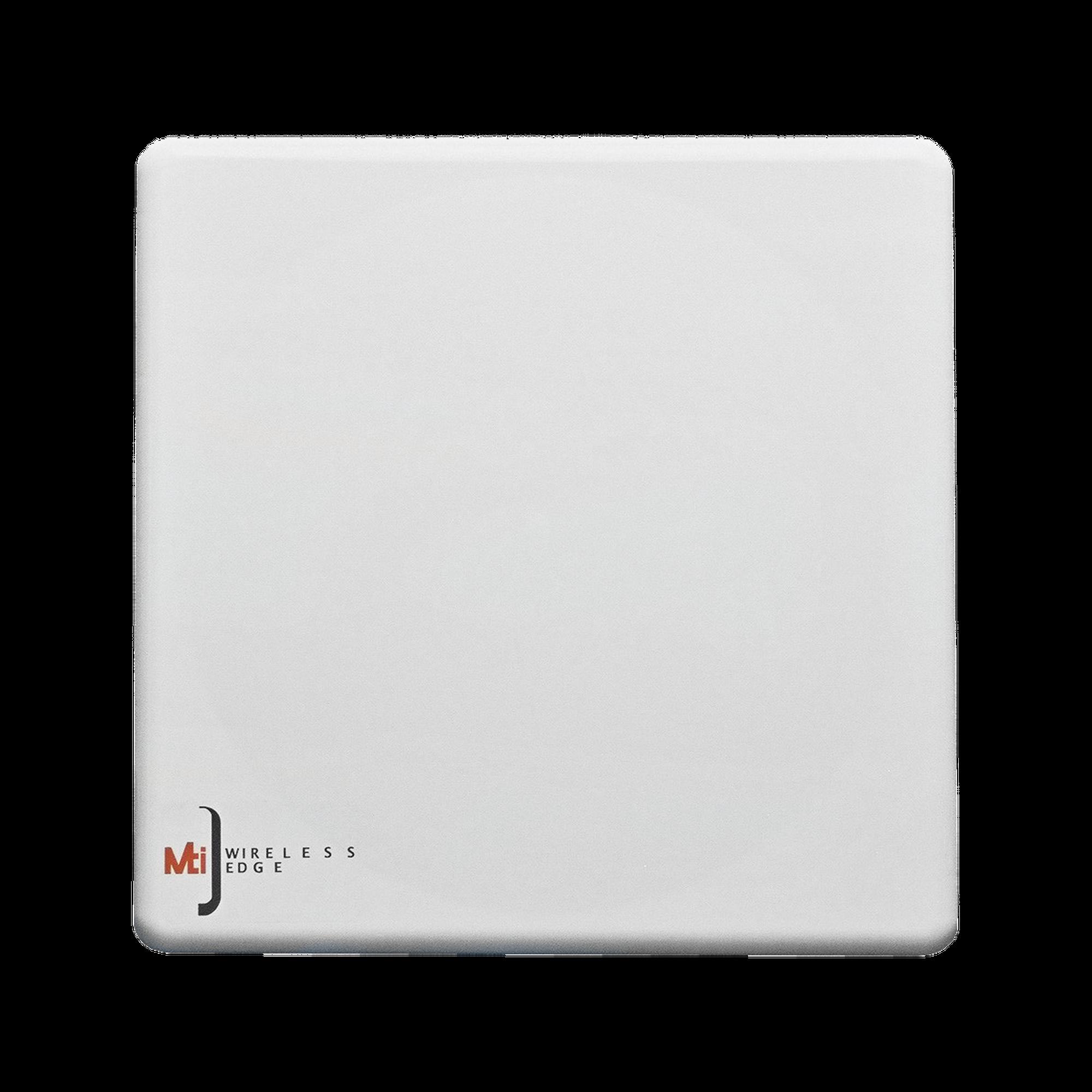 Antena Sectorial, frecuencia de 4.9-5.9 GHz, MIMO 4x4, Ganancia  16 dBi, Angulo de apertura 65?, 4 Conectores N-hembra con slant de 45?, IP67.