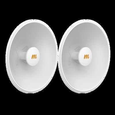 Antenas Modulares Dual Slant, 4.9 - 6.4 GHz, Dimensiones (42.9 cm), Apertura 45 ° Ganancia de 25 dBi, Diseñada para radio C5x