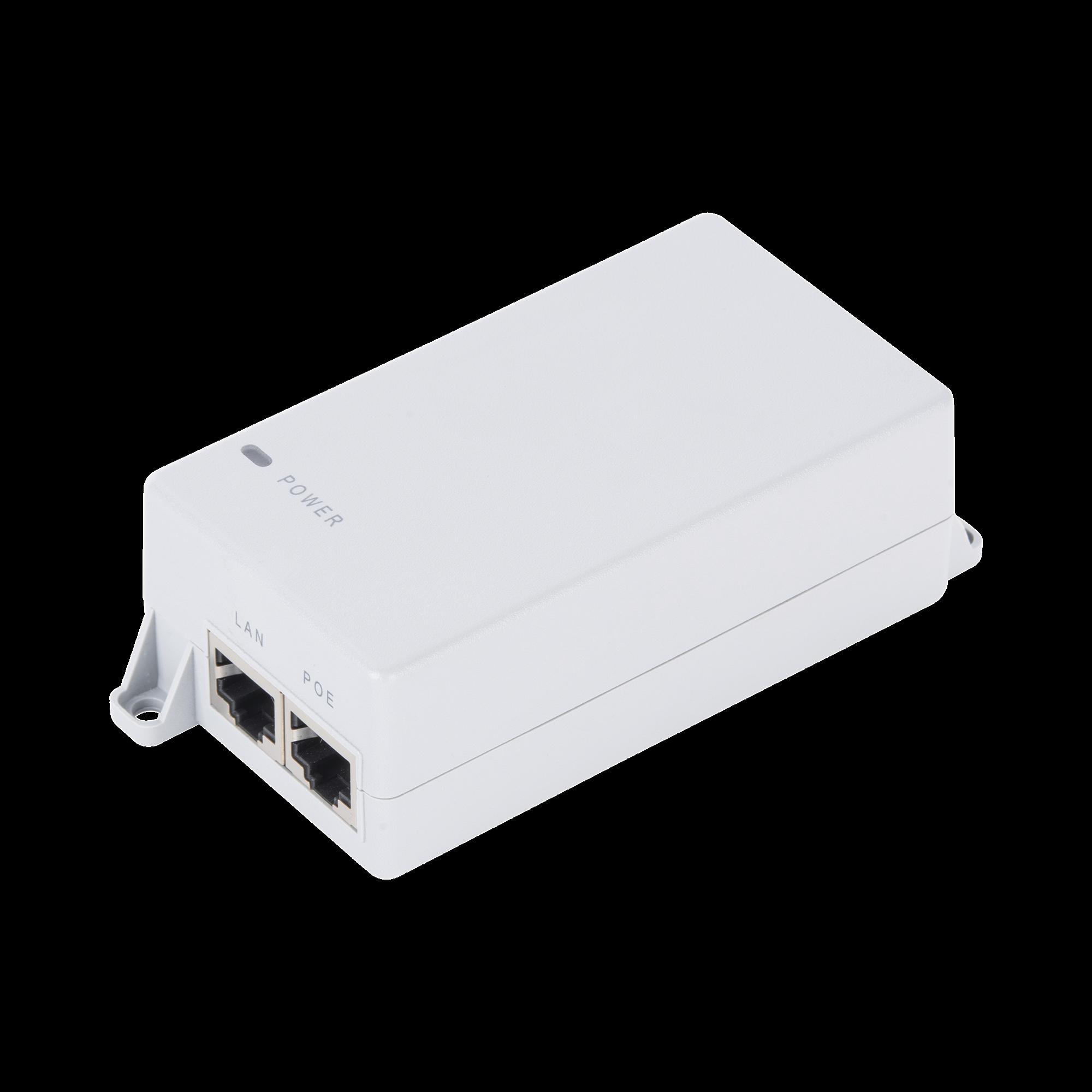 Inyector PoE Pasivo Gigabit de pared para C5x, C5c,  de Mimosa, Voltaje de salida  24Vcd.