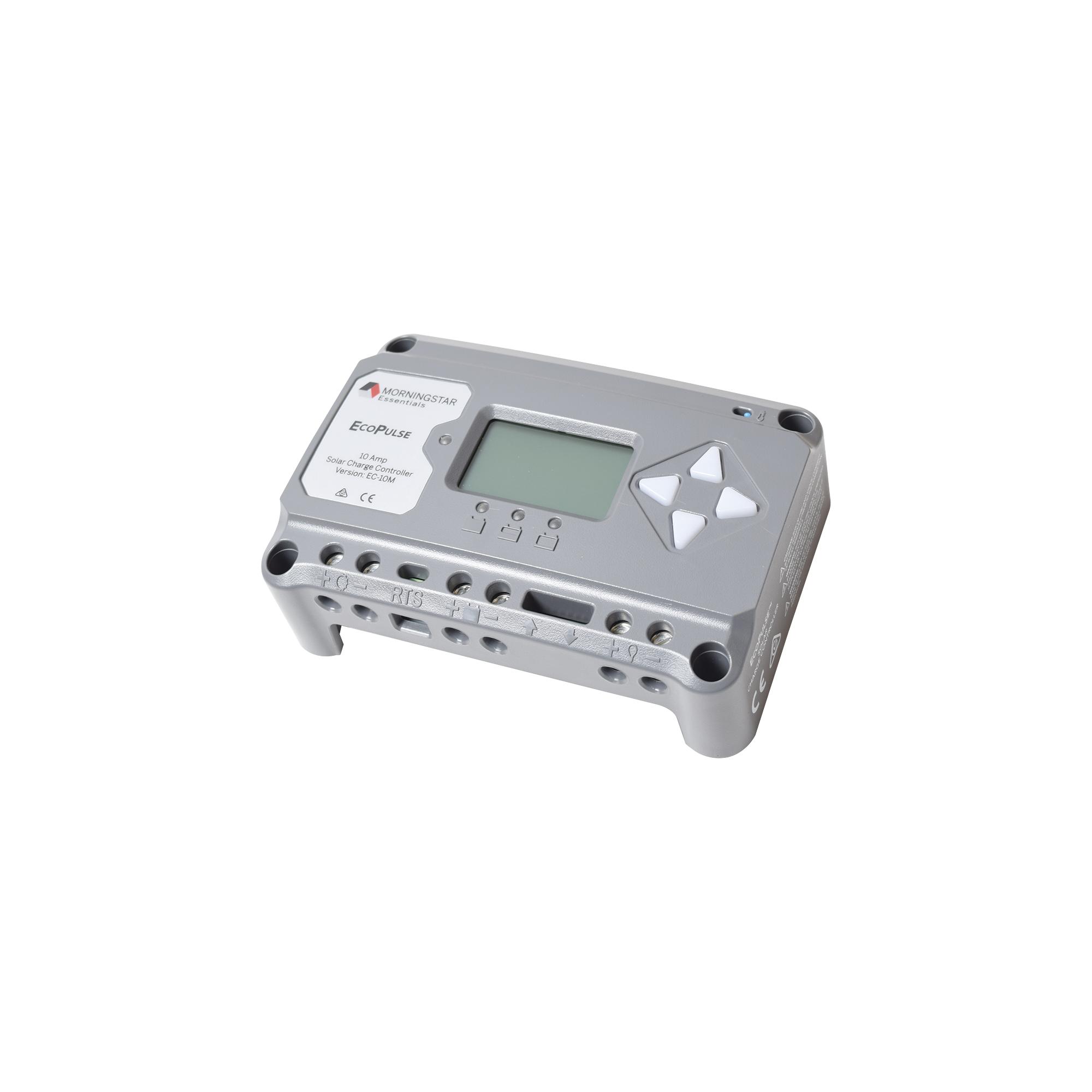 Controlador solar 12/24 Vcd de 20 Amp. Con pantalla de medición.