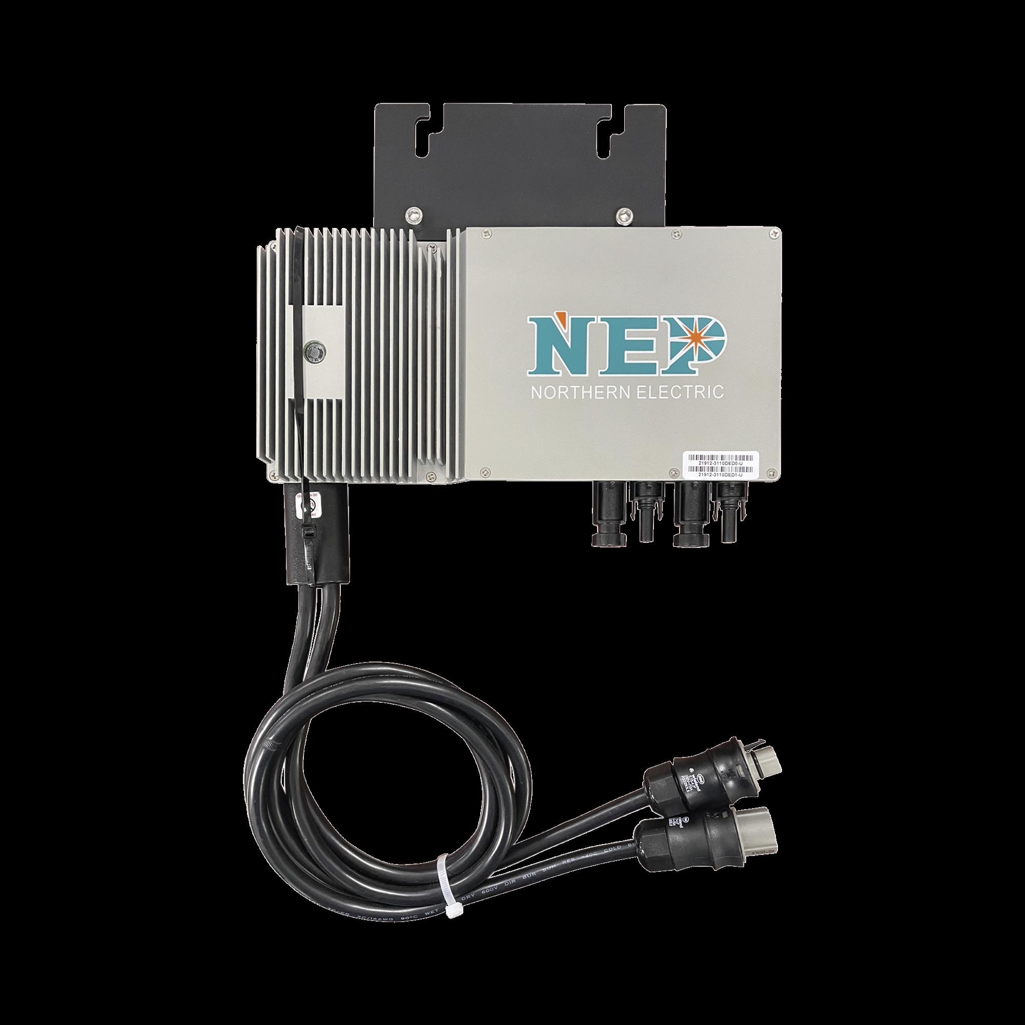 Microinversor 600 W para Interconexión a Red Eléctrica 220V, IP67 Con Cable Troncal Incluido